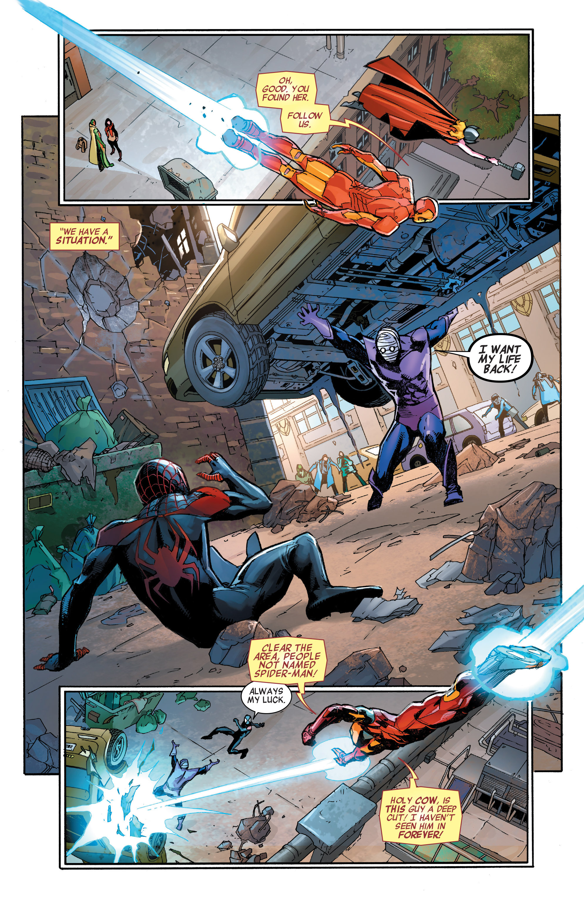 Read online All-New, All-Different Avengers comic -  Issue #7 - 9