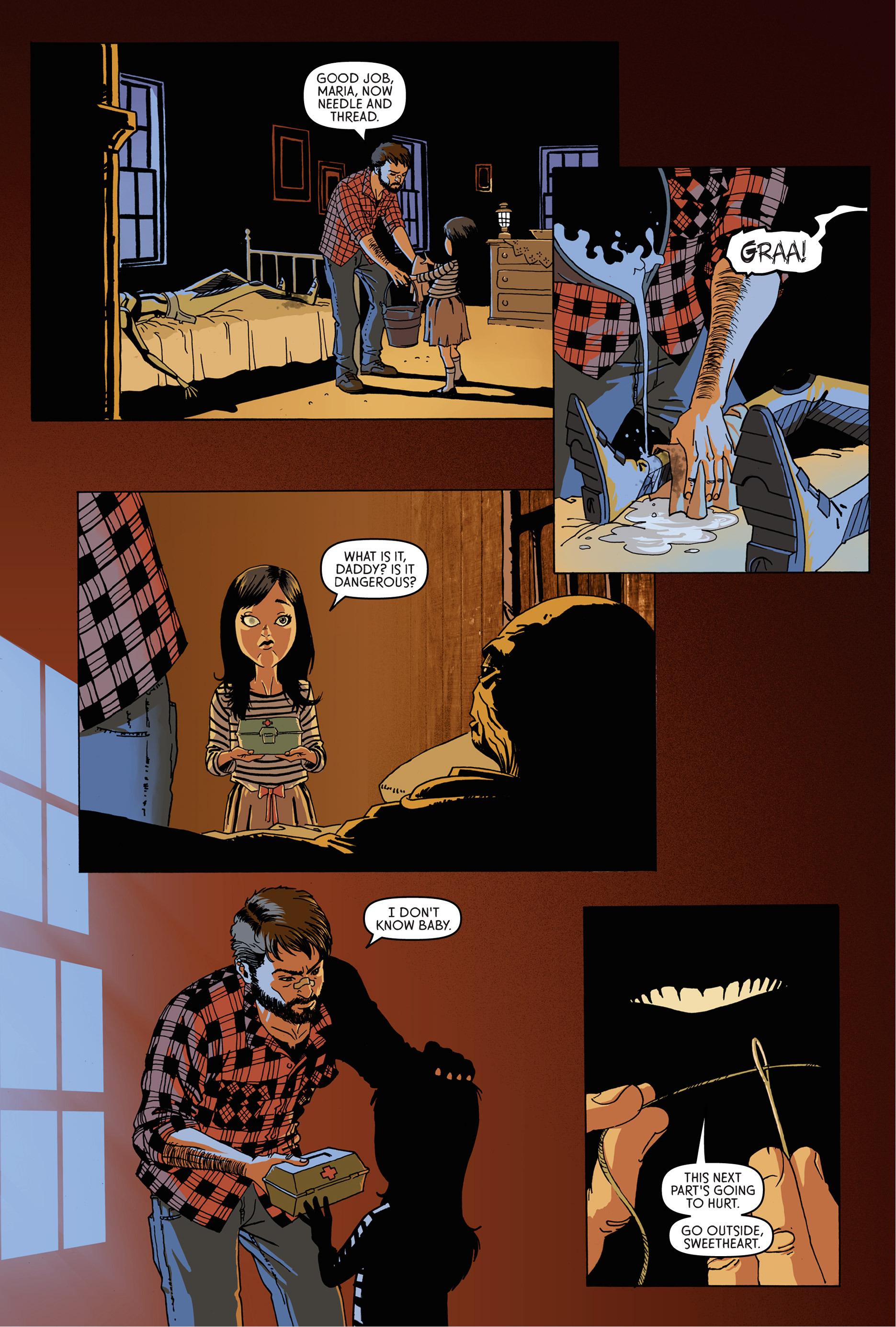 Read online Trespasser comic -  Issue #1 - 11