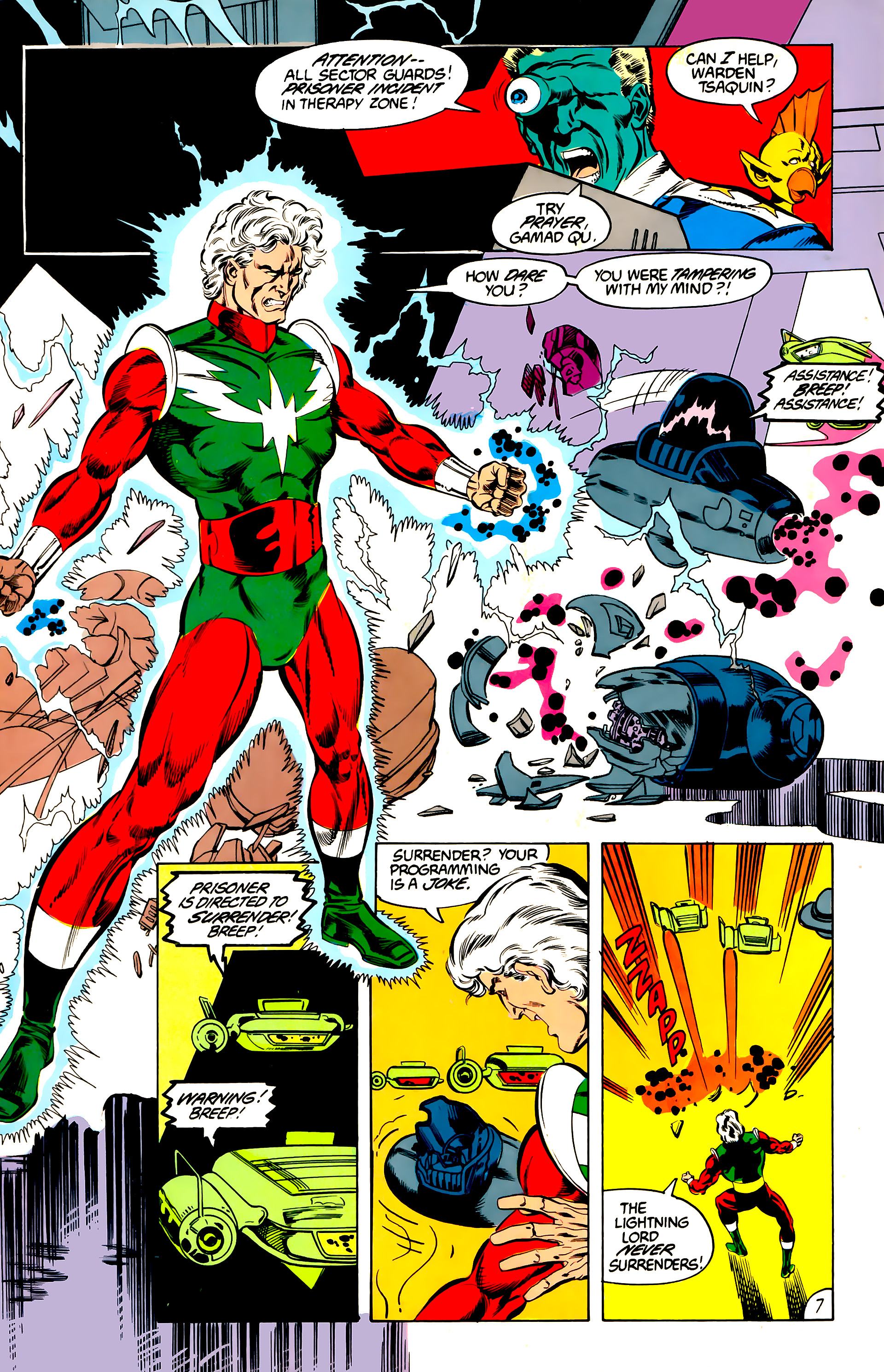 Legion of Super-Heroes (1984) 45 Page 7