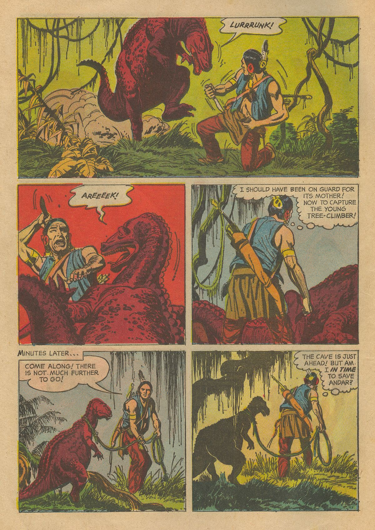 Read online Turok, Son of Stone comic -  Issue #54 - 8