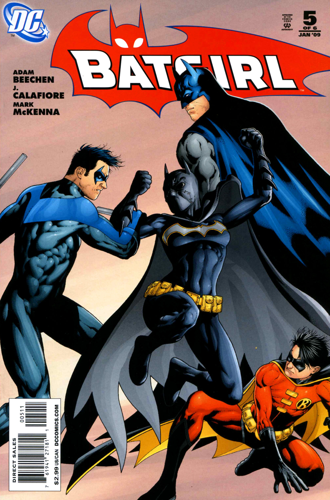 Batgirl (2008) 5 Page 1