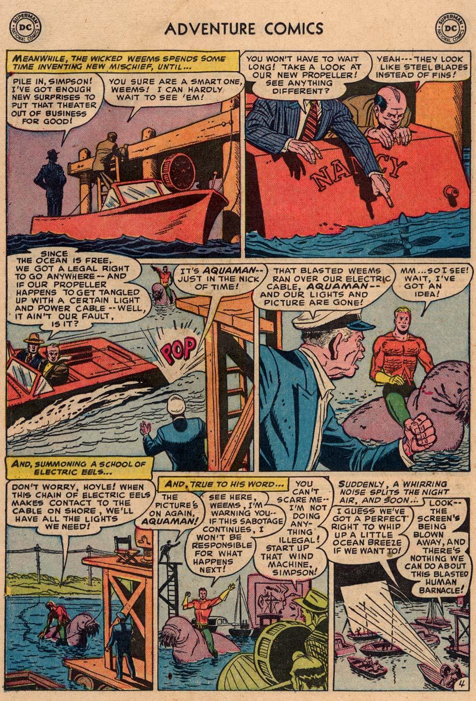 Read online Adventure Comics (1938) comic -  Issue #186 - 20