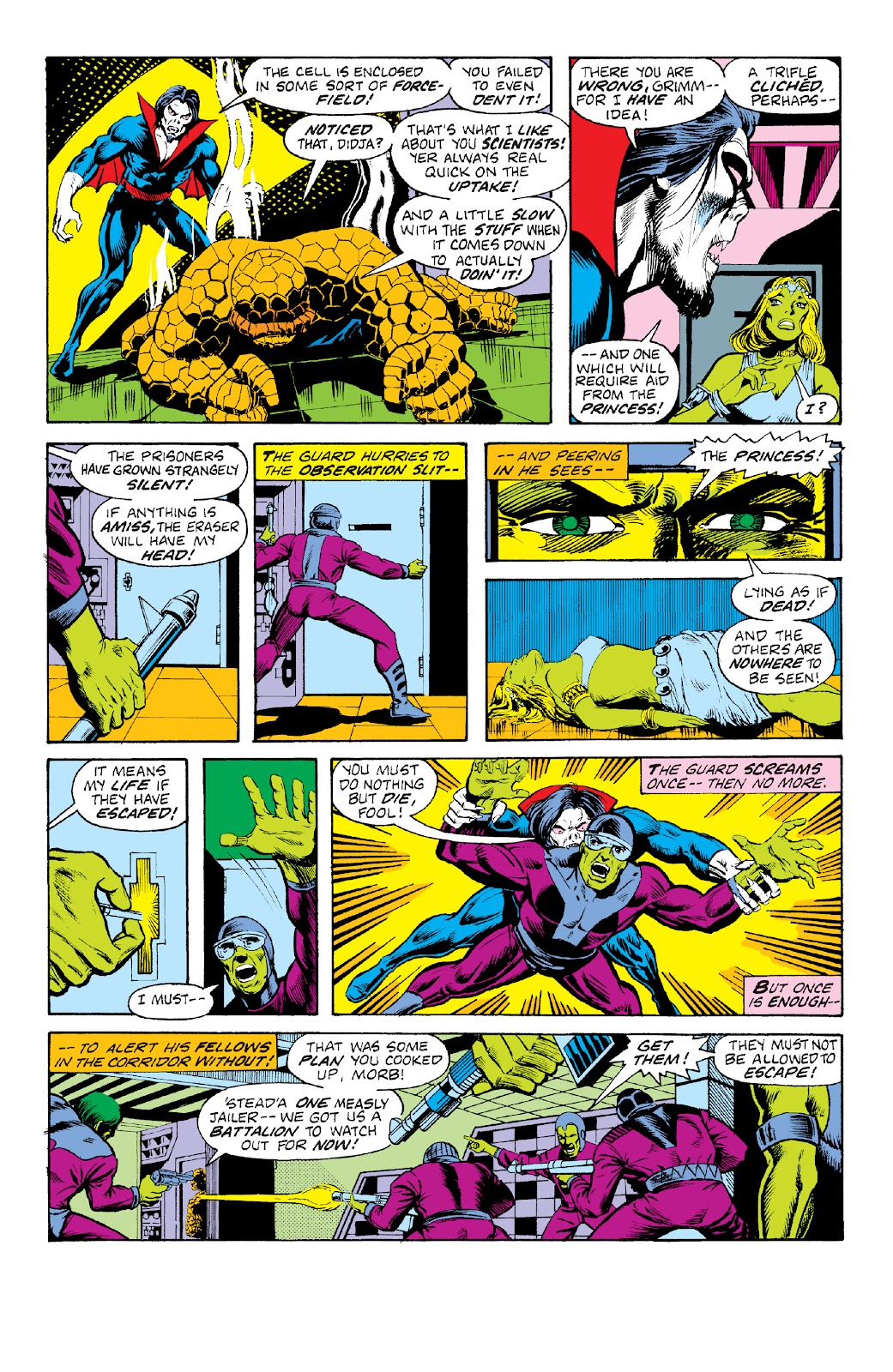 Read online Marvel Two-In-One Epic Collection: Cry Monster comic -  Issue # TPB (Part 4) - 23