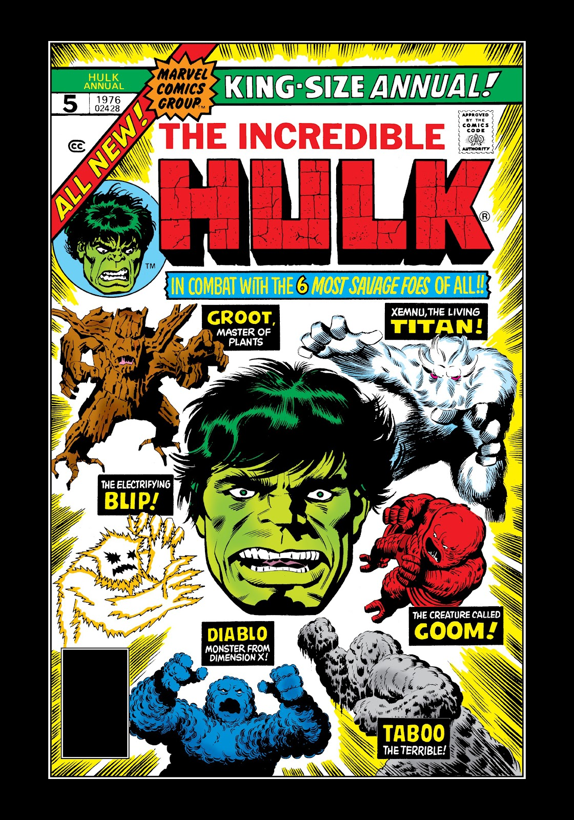 Read online Marvel Masterworks: The Incredible Hulk comic -  Issue # TPB 12 (Part 1) - 46
