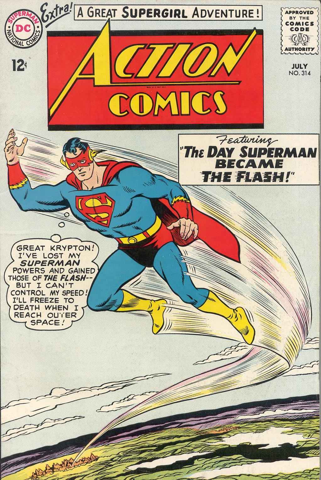 Action Comics (1938) 314 Page 1