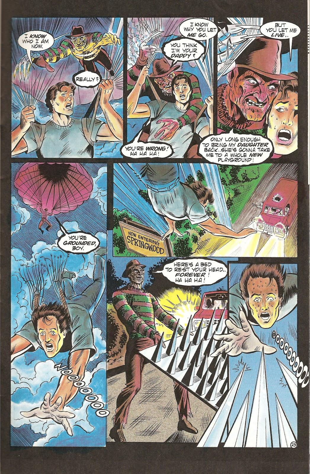 Read online Freddy's Dead: The Final Nightmare comic -  Issue #2 - 25