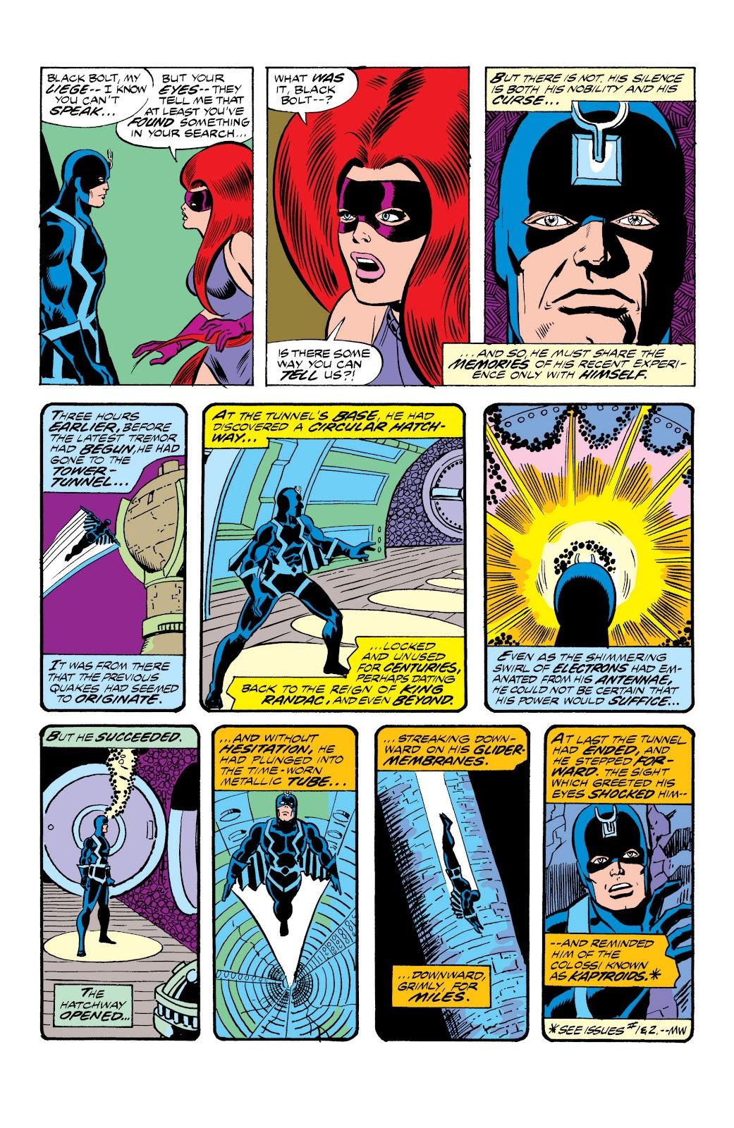 Read online Marvel Masterworks: The Inhumans comic -  Issue # TPB 2 (Part 1) - 51