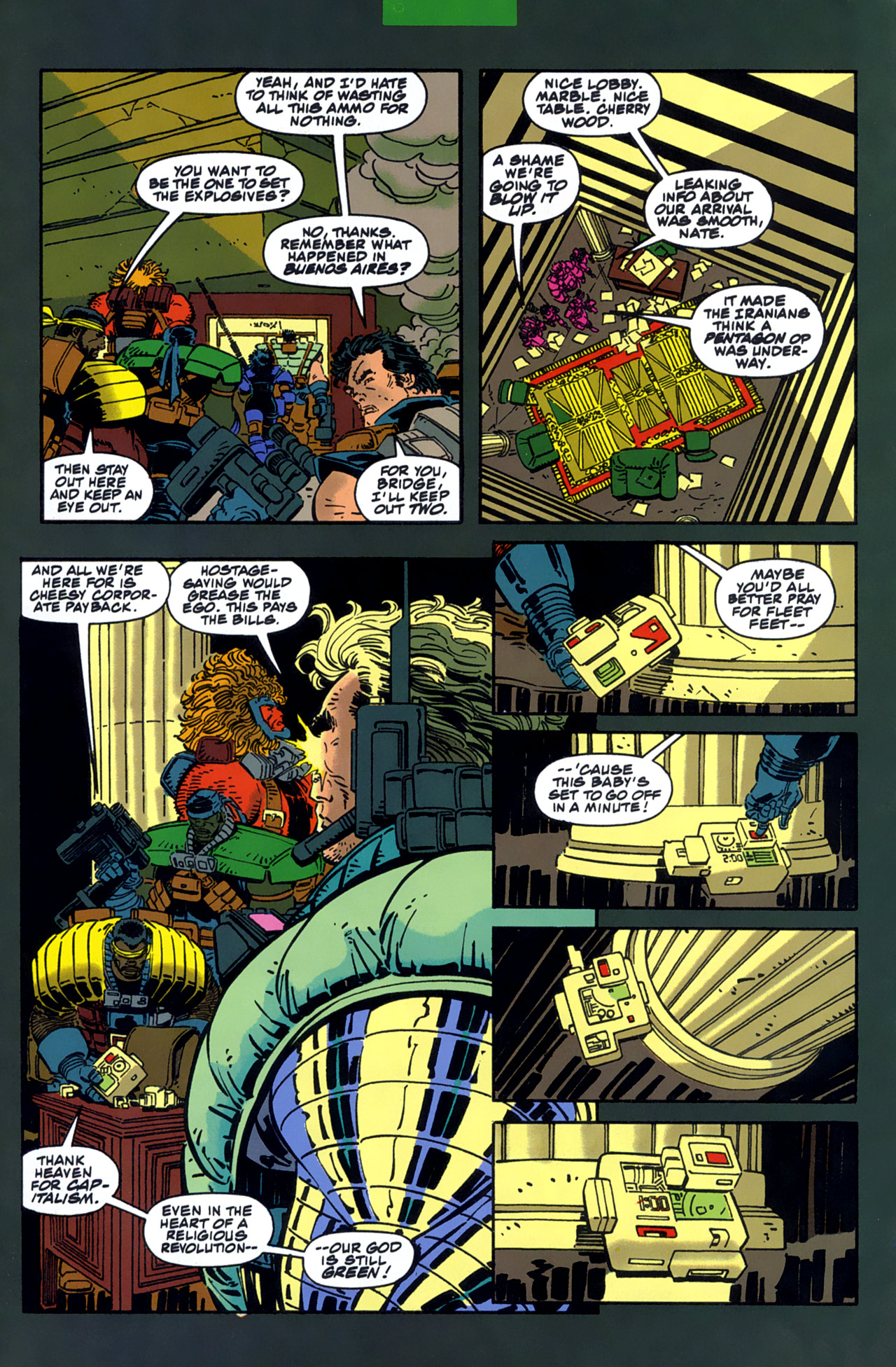 Read online Cable - Blood and Metal comic -  Issue #1 - 9