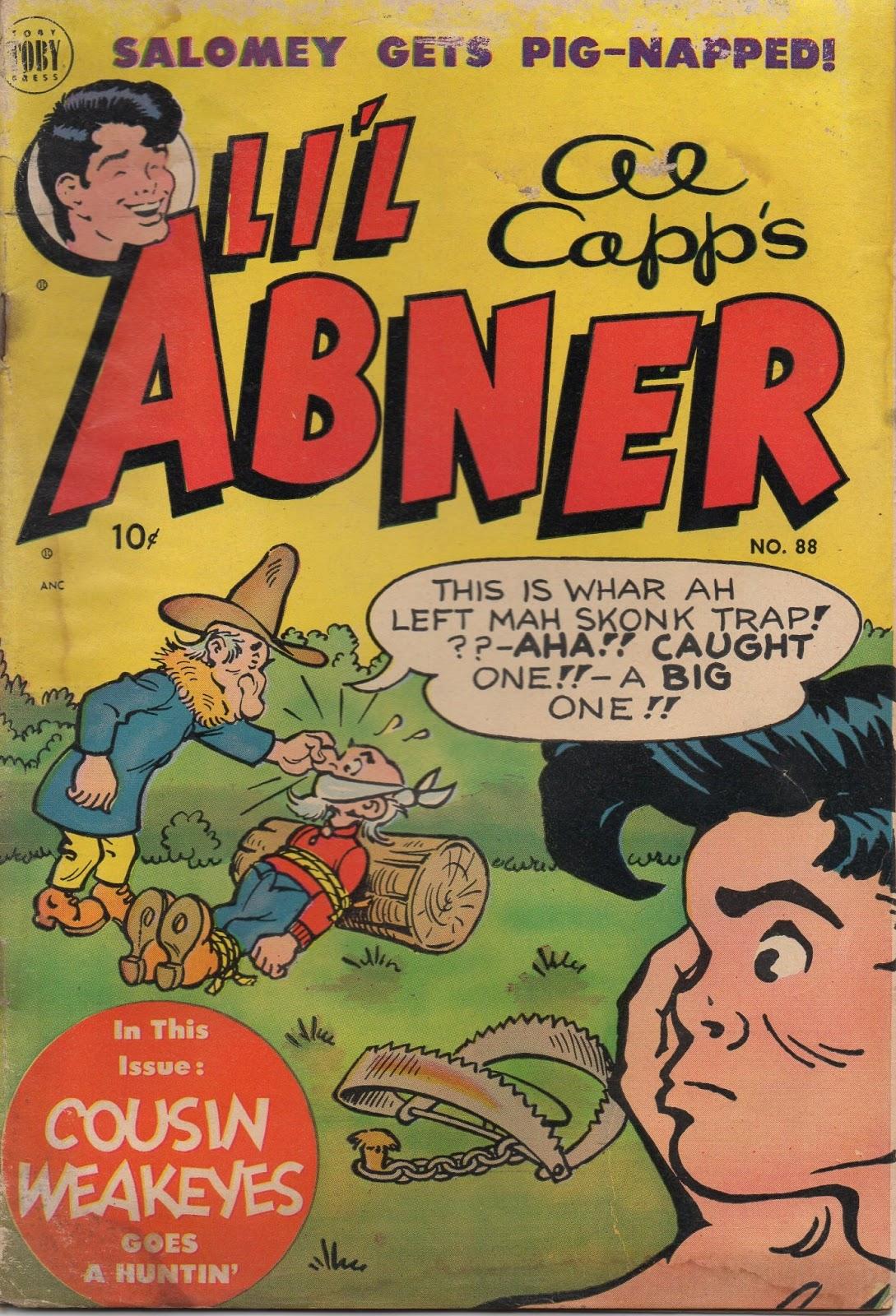 Li'l Abner Comics issue 88 - Page 1