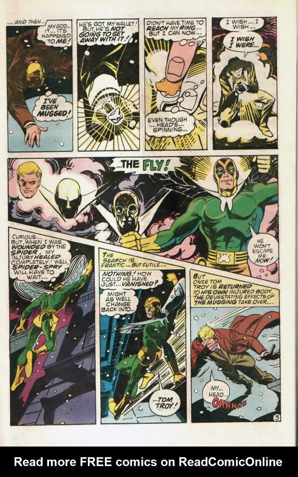 Read online The Fly (1983) comic -  Issue #2 - 15