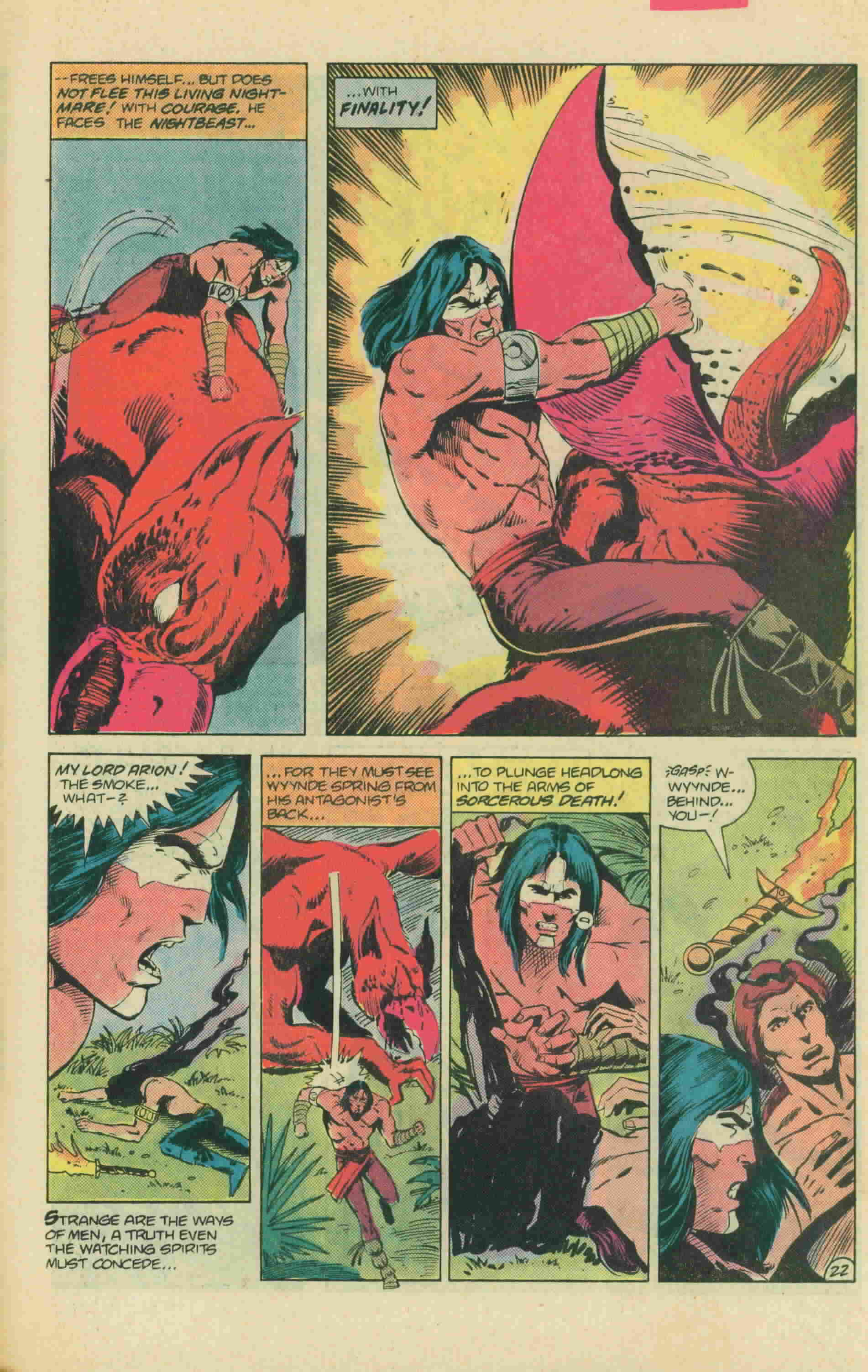 Read online Arion, Lord of Atlantis comic -  Issue #13 - 32