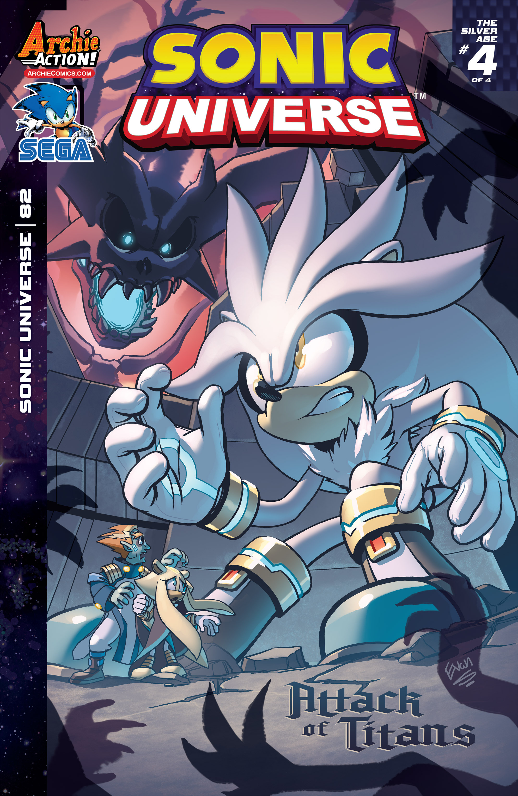 Sonic Universe 82 Page 1