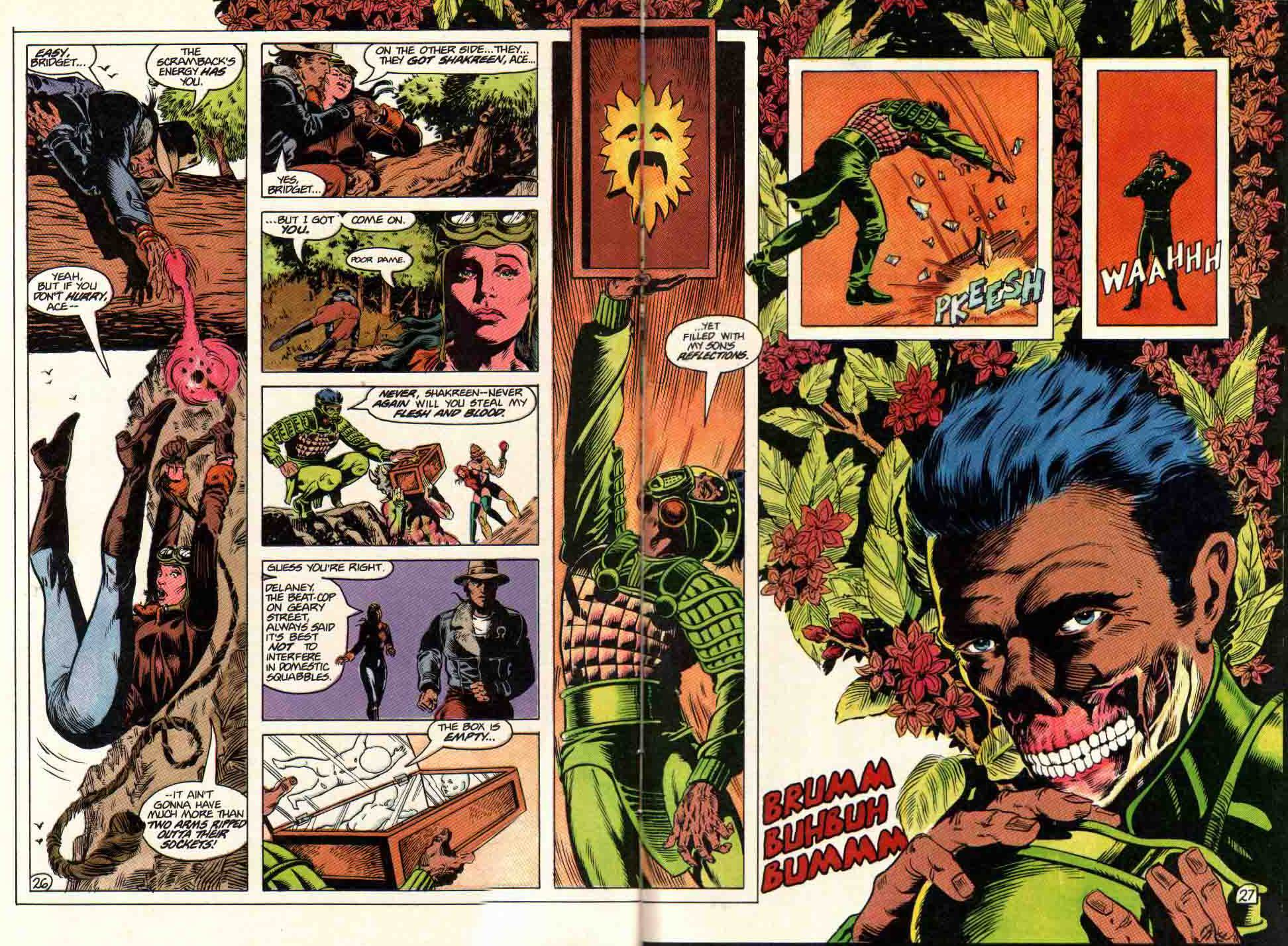 Read online Aztec Ace comic -  Issue #11 - 22