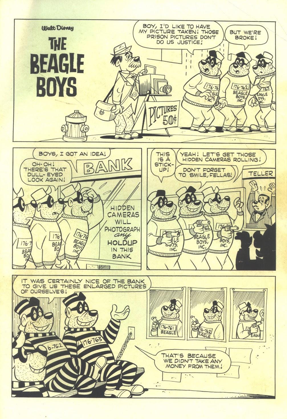 Walt Disney THE BEAGLE BOYS issue 7 - Page 35