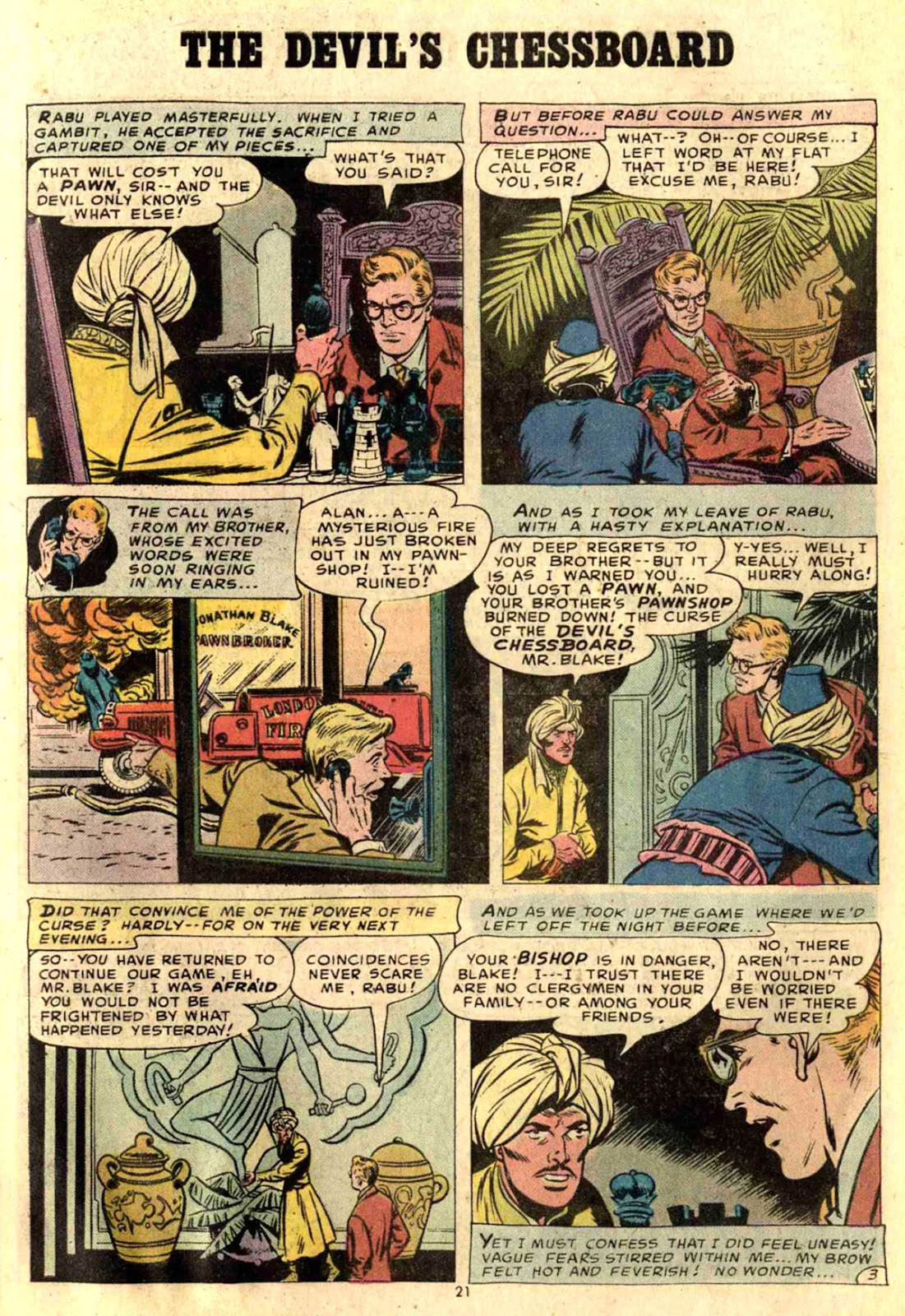 Comic House of Mystery (1951) issue 226
