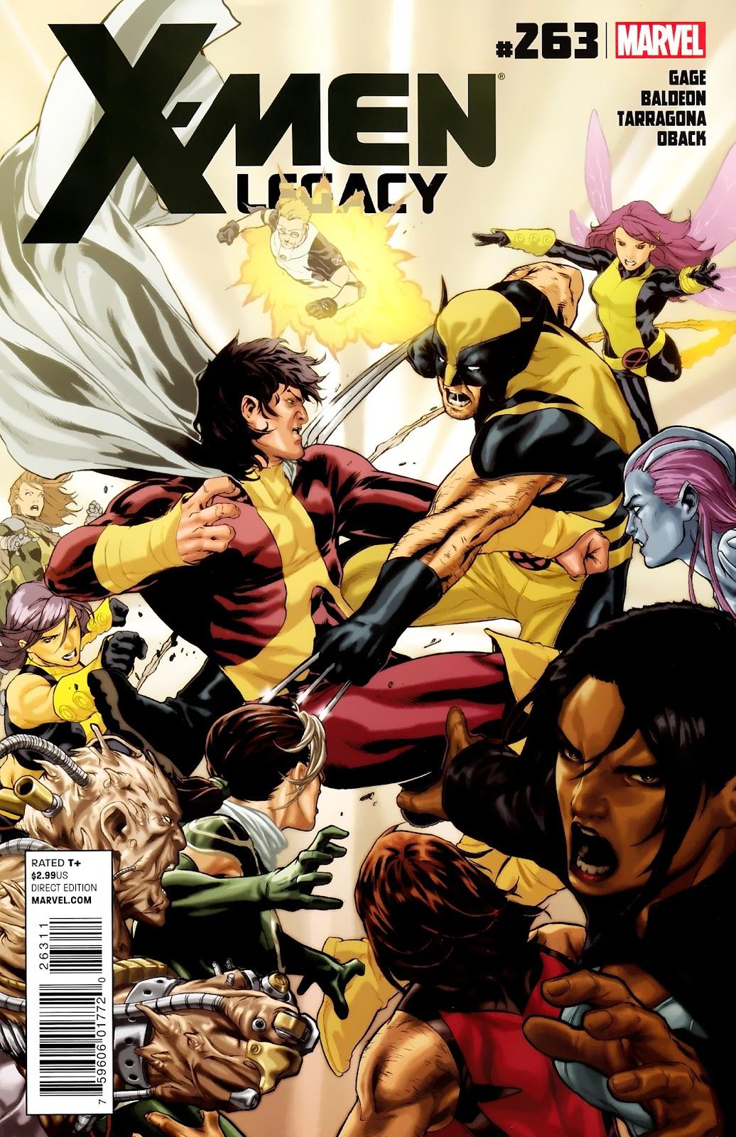 X-Men Legacy (2008) 263 Page 1