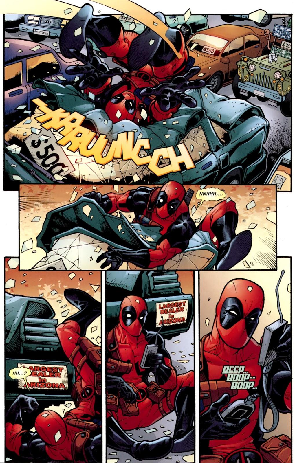 Read online Deadpool (2008) comic -  Issue #37 - 19