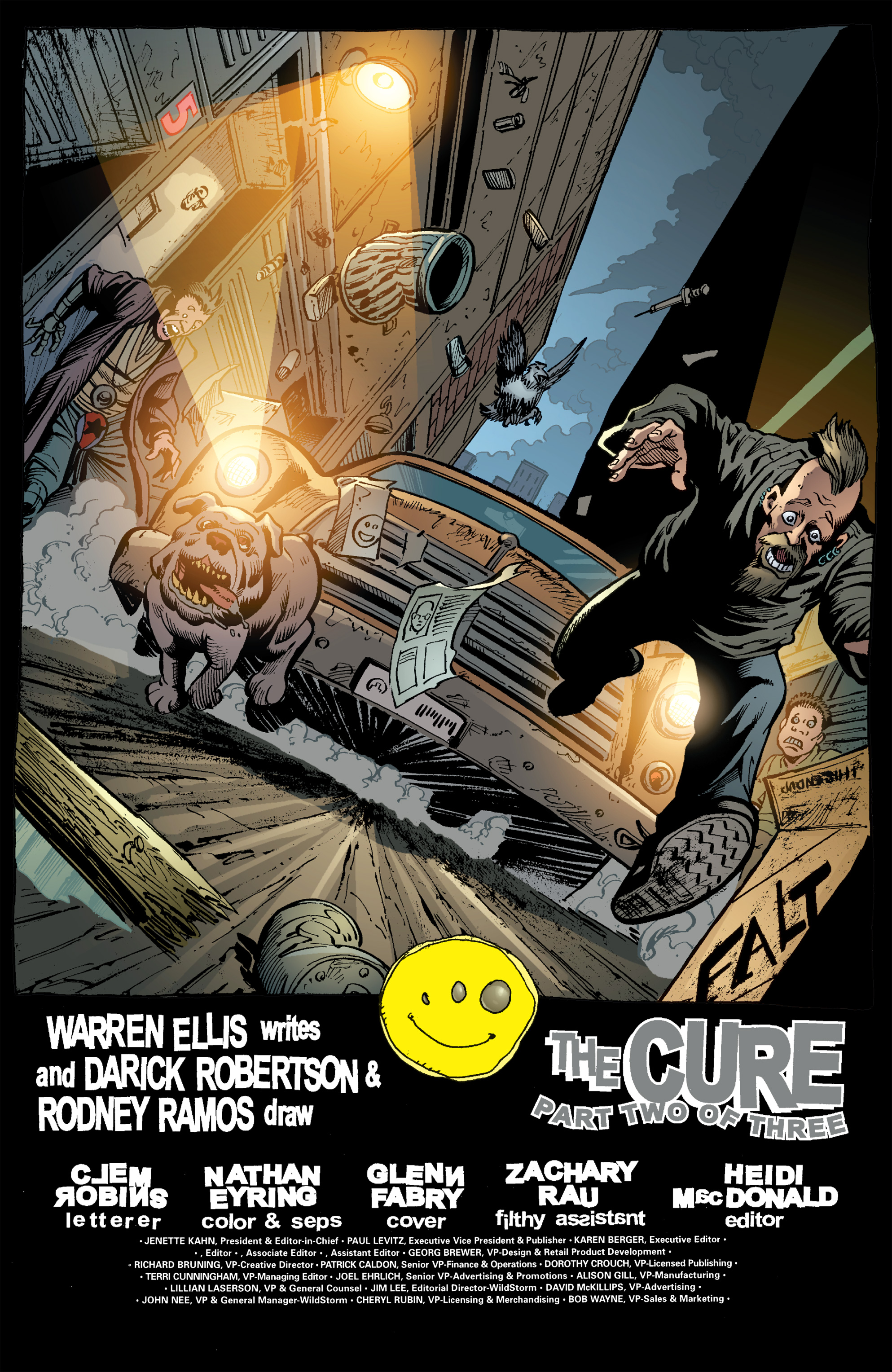Read online Transmetropolitan comic -  Issue #53 - 3