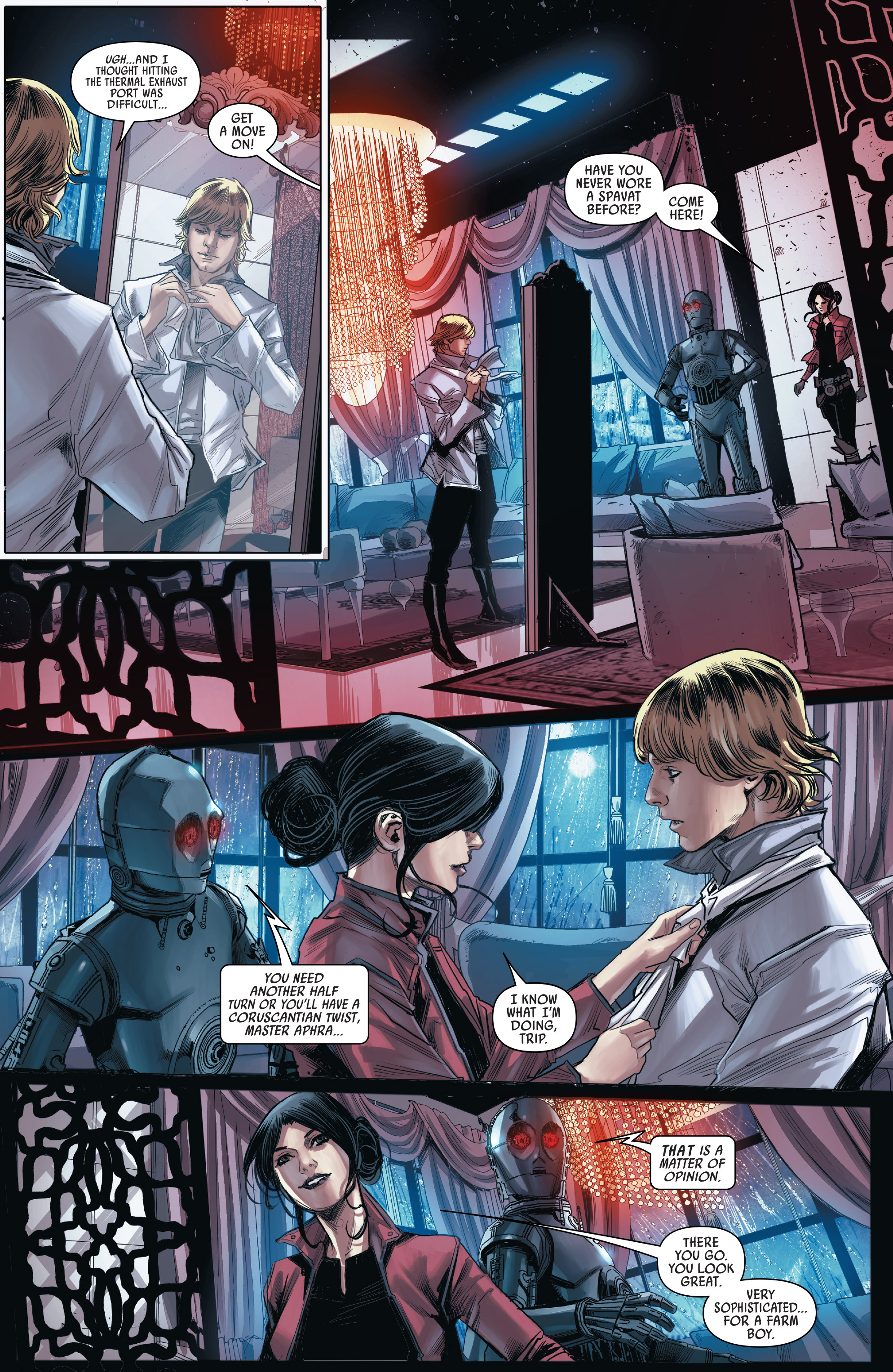 Read online Star Wars: The Screaming Citadel comic -  Issue # Full - 22