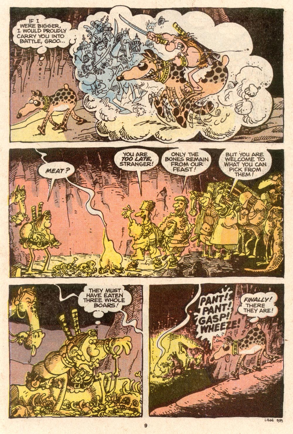 Read online Sergio Aragonés Groo the Wanderer comic -  Issue #62 - 10