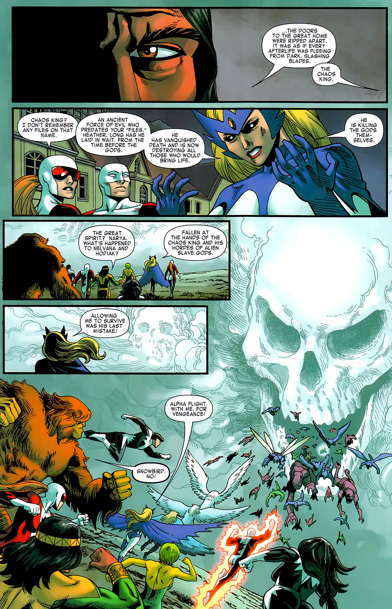 Read online Chaos War: Alpha Flight comic -  Issue # Full - 10