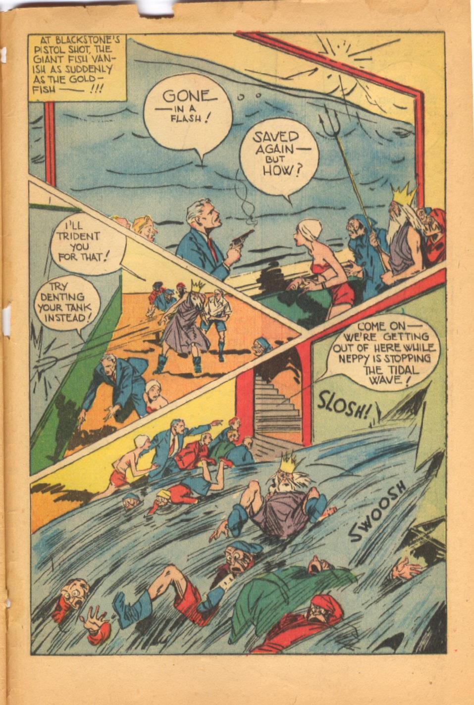 Read online Super-Magician Comics comic -  Issue #38 - 49