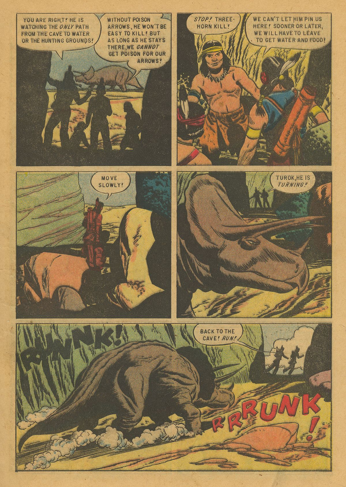 Read online Turok, Son of Stone comic -  Issue #10 - 5