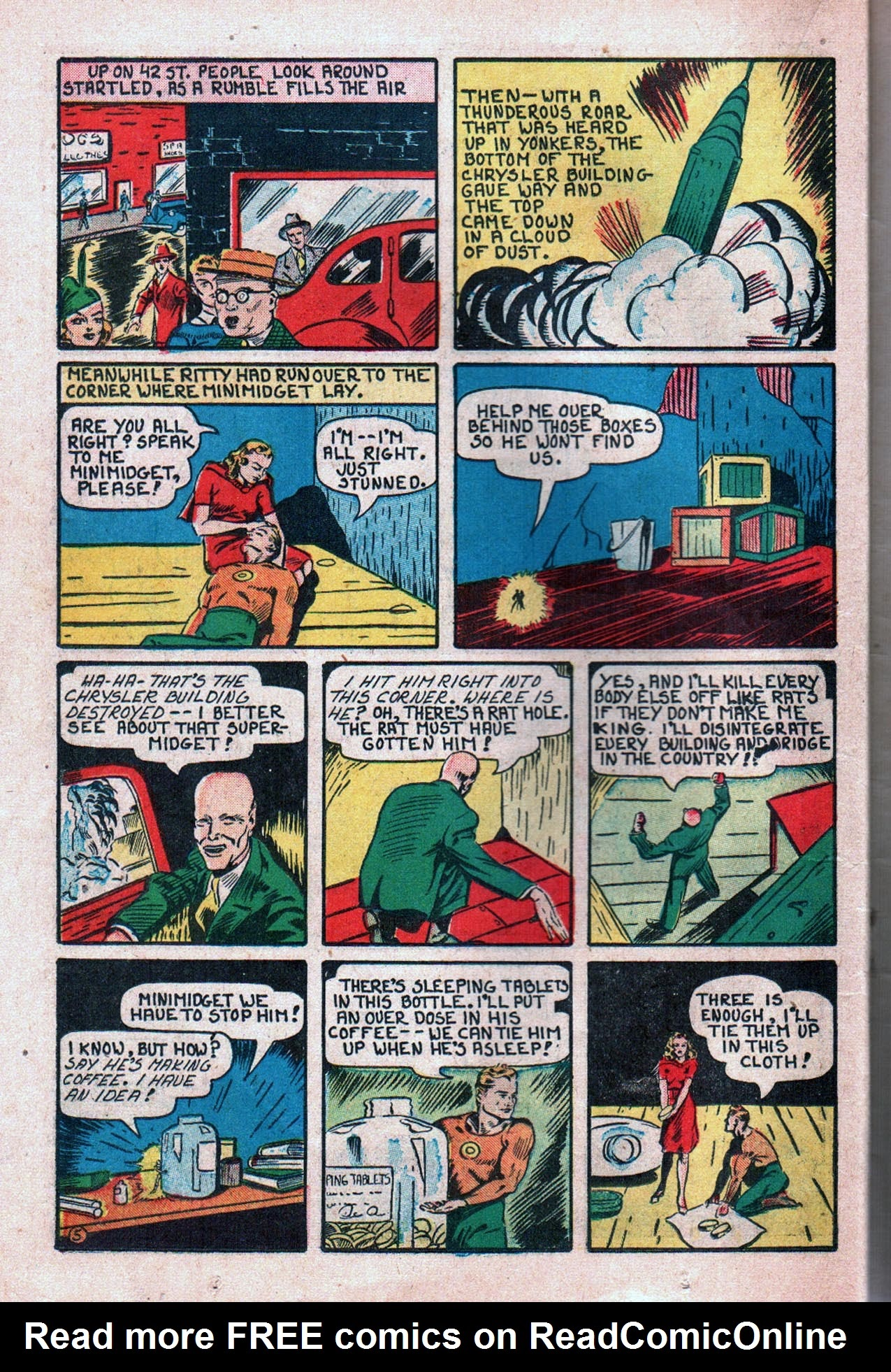 Read online Amazing Man Comics comic -  Issue #20 - 27