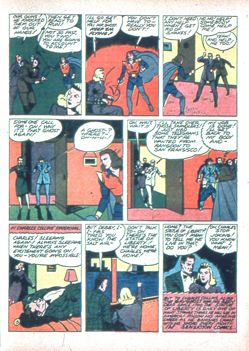 Read online Sensation (Mystery) Comics comic -  Issue #2 - 45