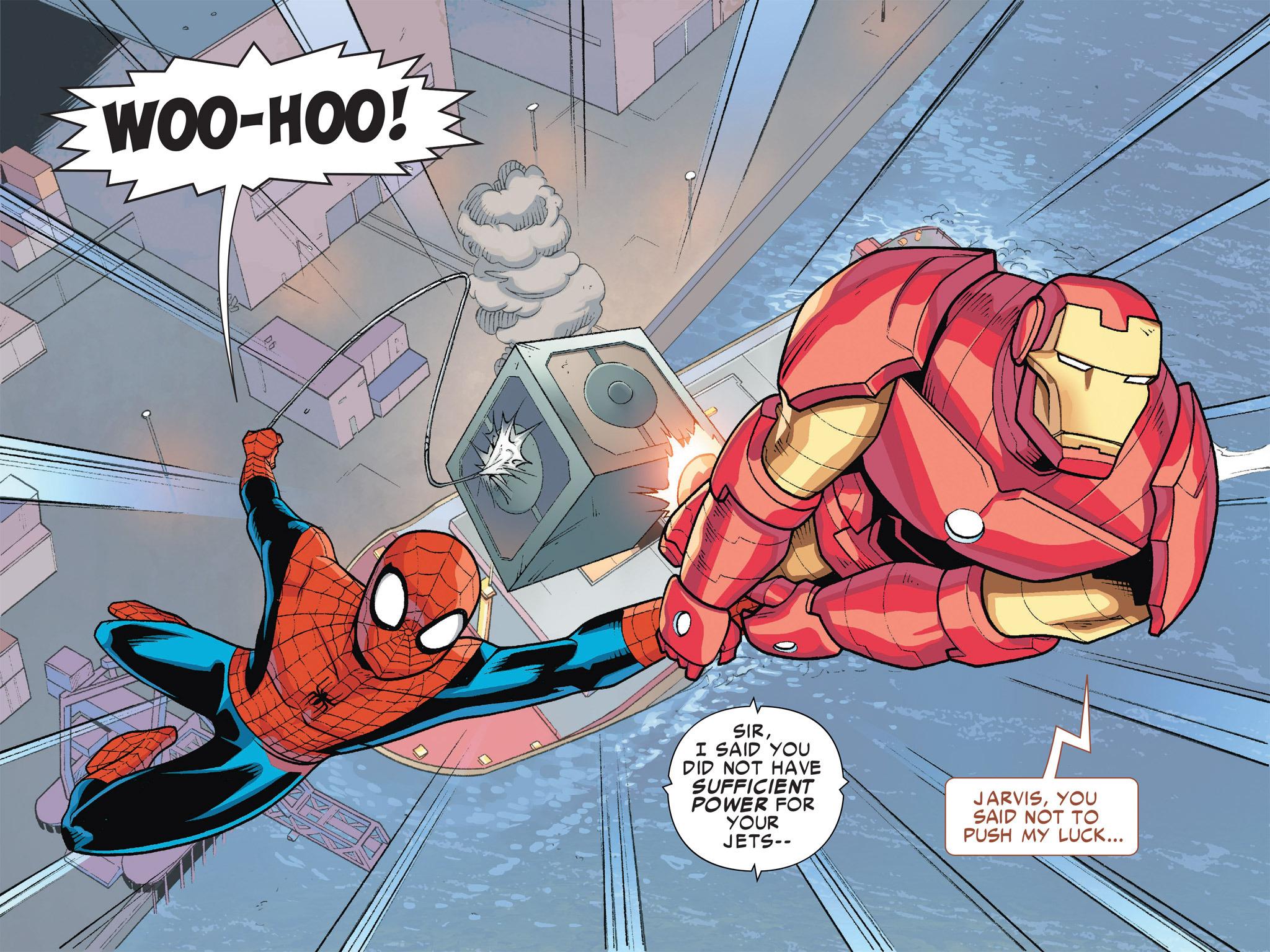 Read online Ultimate Spider-Man (Infinite Comics) (2016) comic -  Issue #5 - 43