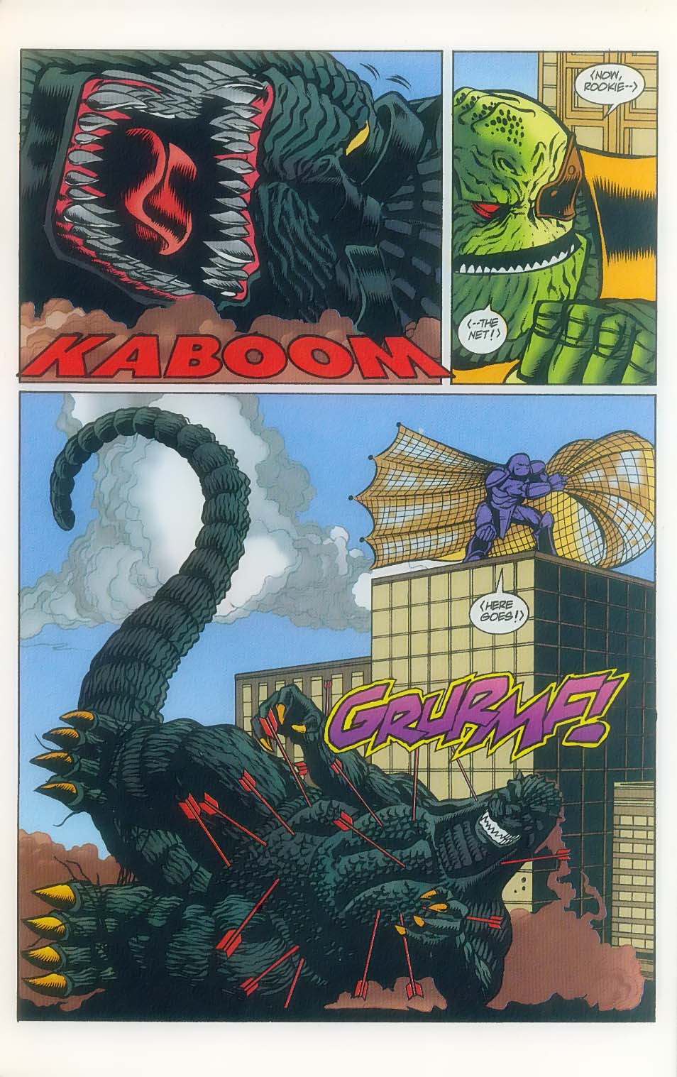Godzilla (1995) Issue #7 #8 - English 20