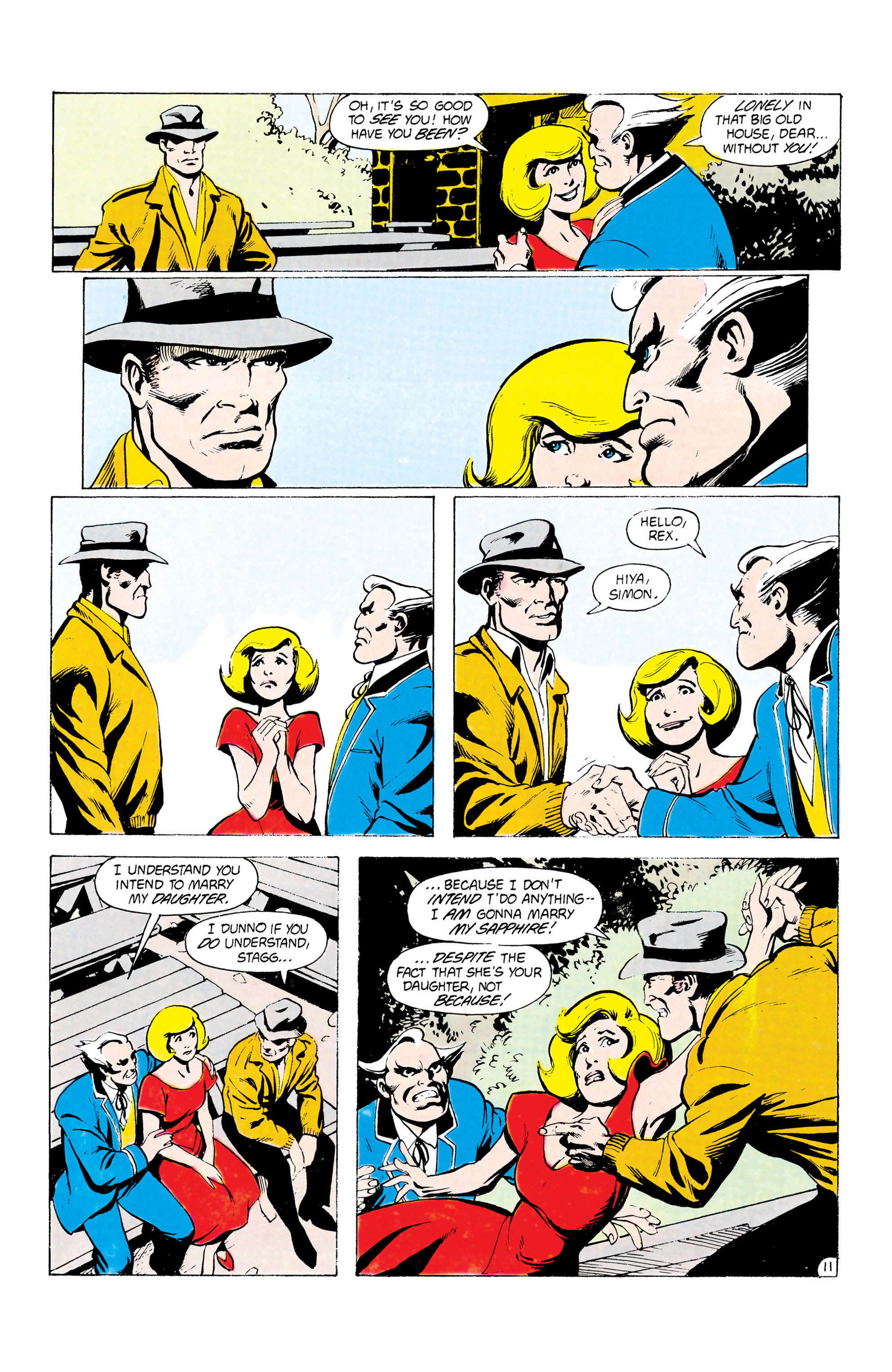 Batman and the Outsiders (1983) 24 Page 11