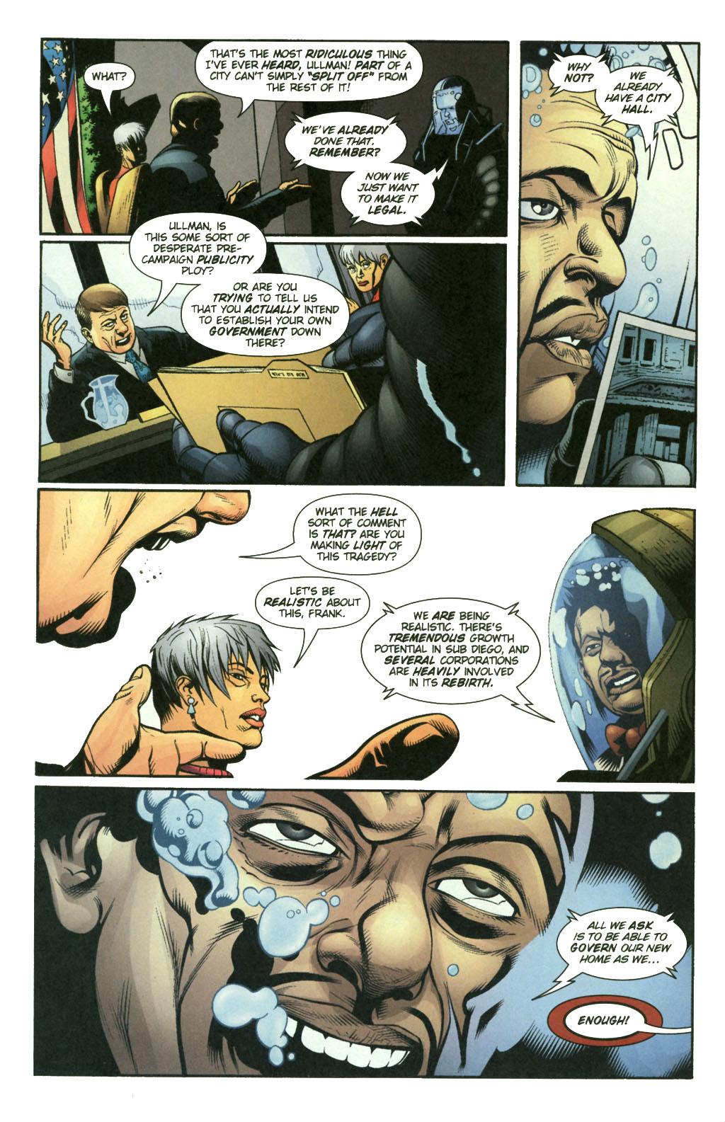 Read online Aquaman (2003) comic -  Issue #21 - 10