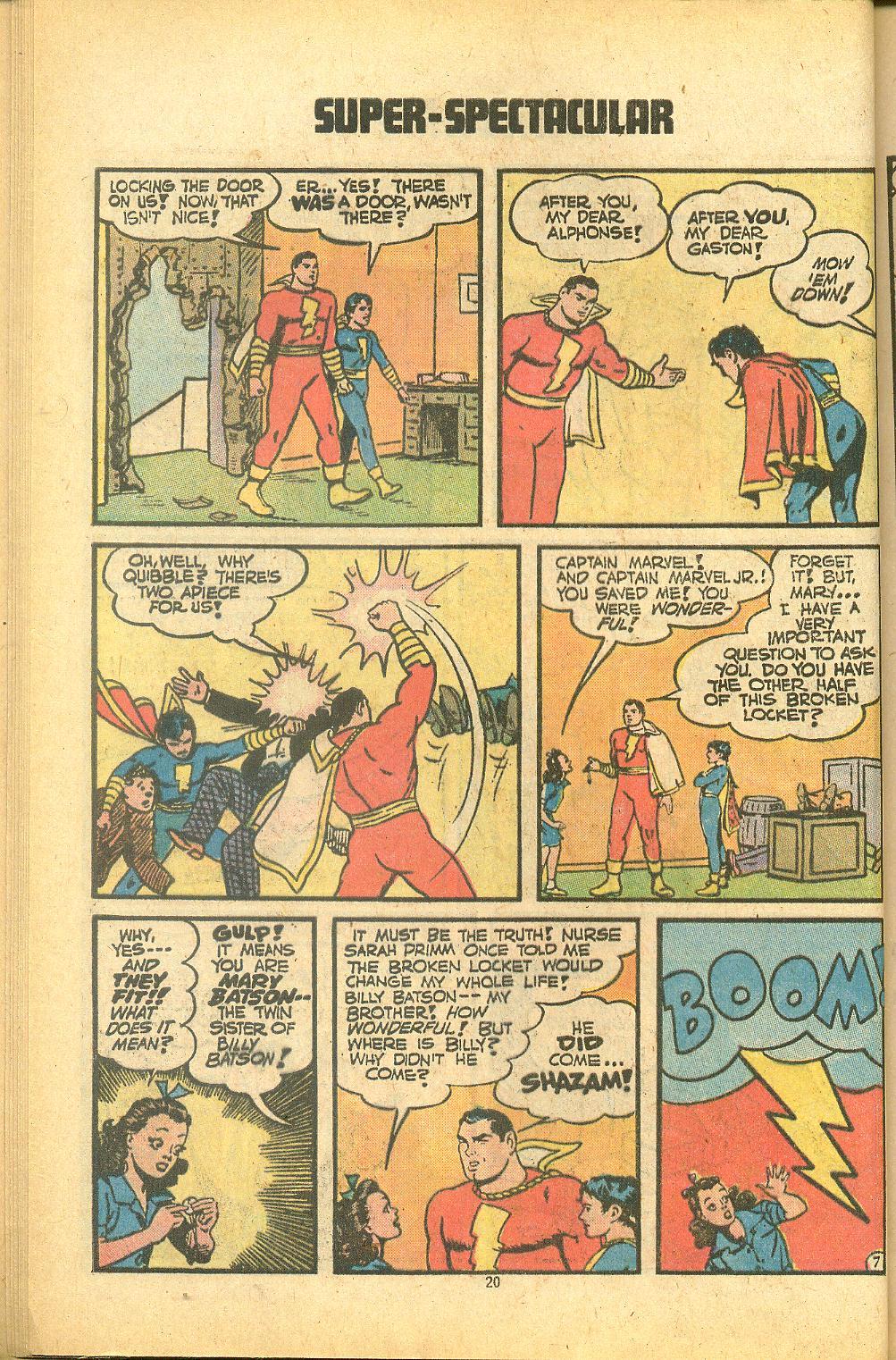 Read online Shazam! (1973) comic -  Issue #8 - 20