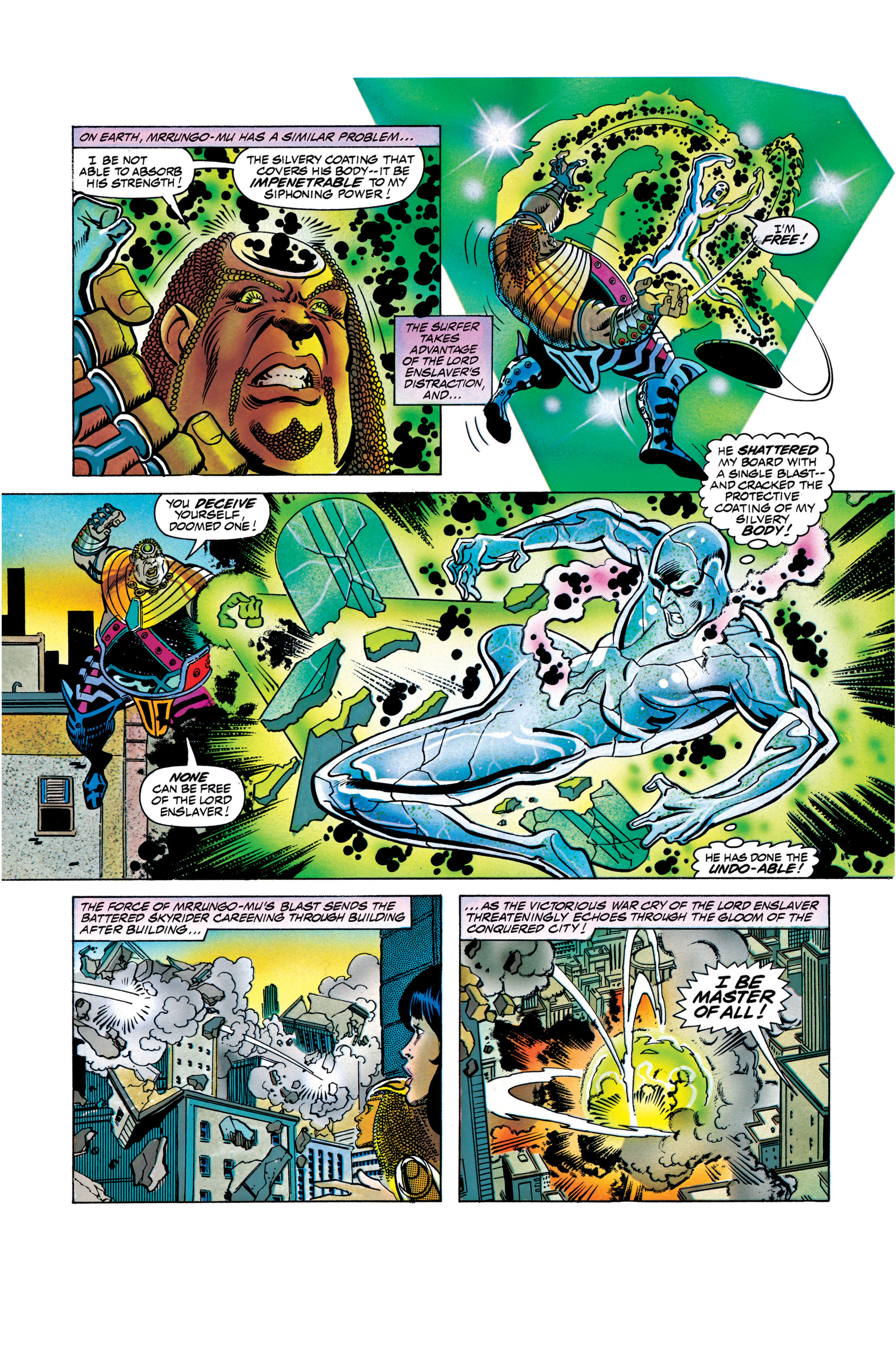 Read online Silver Surfer: Parable comic -  Issue # TPB - 119