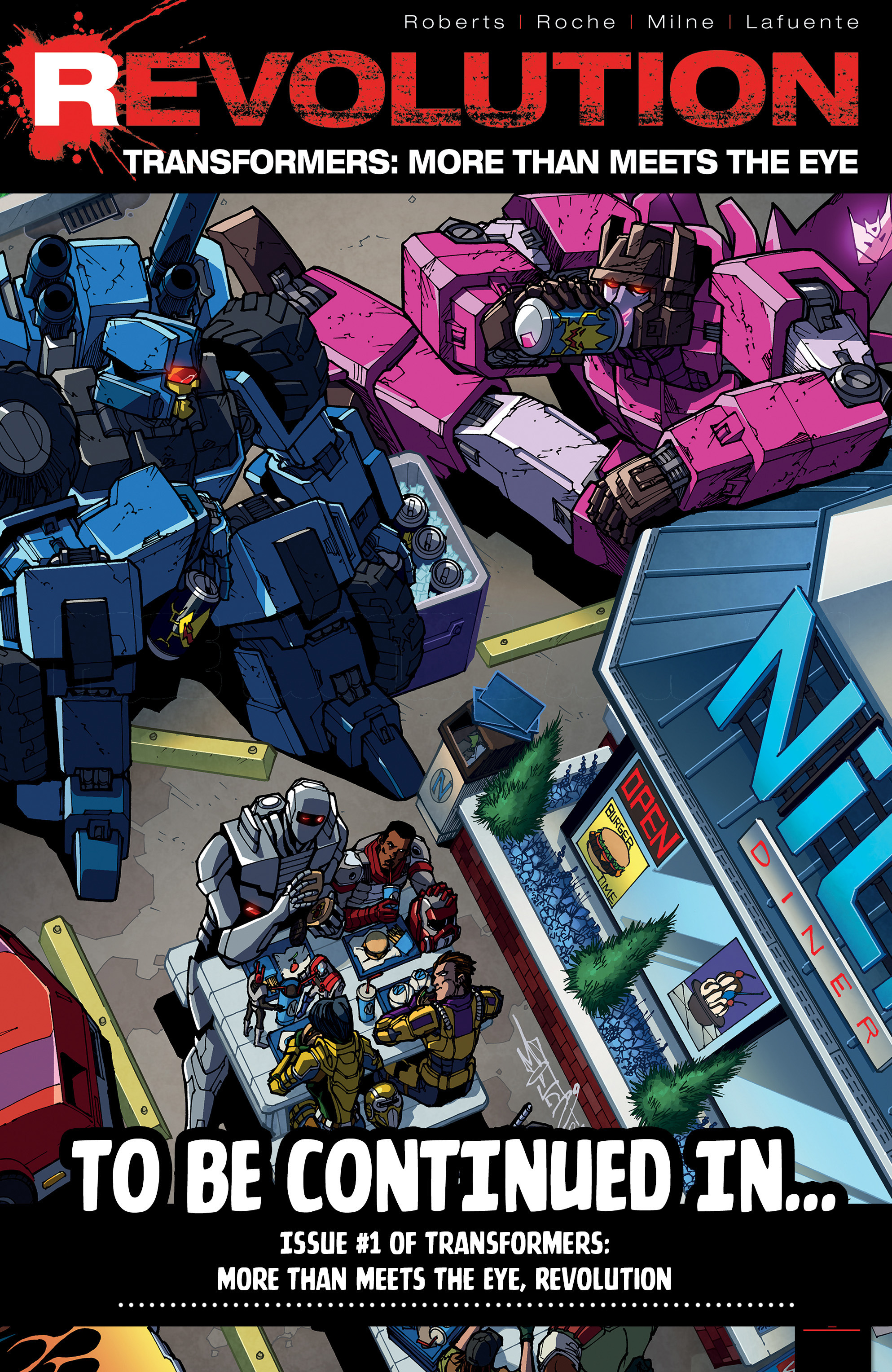 Read online Transformers: Till All Are One comic -  Issue #5 - 34
