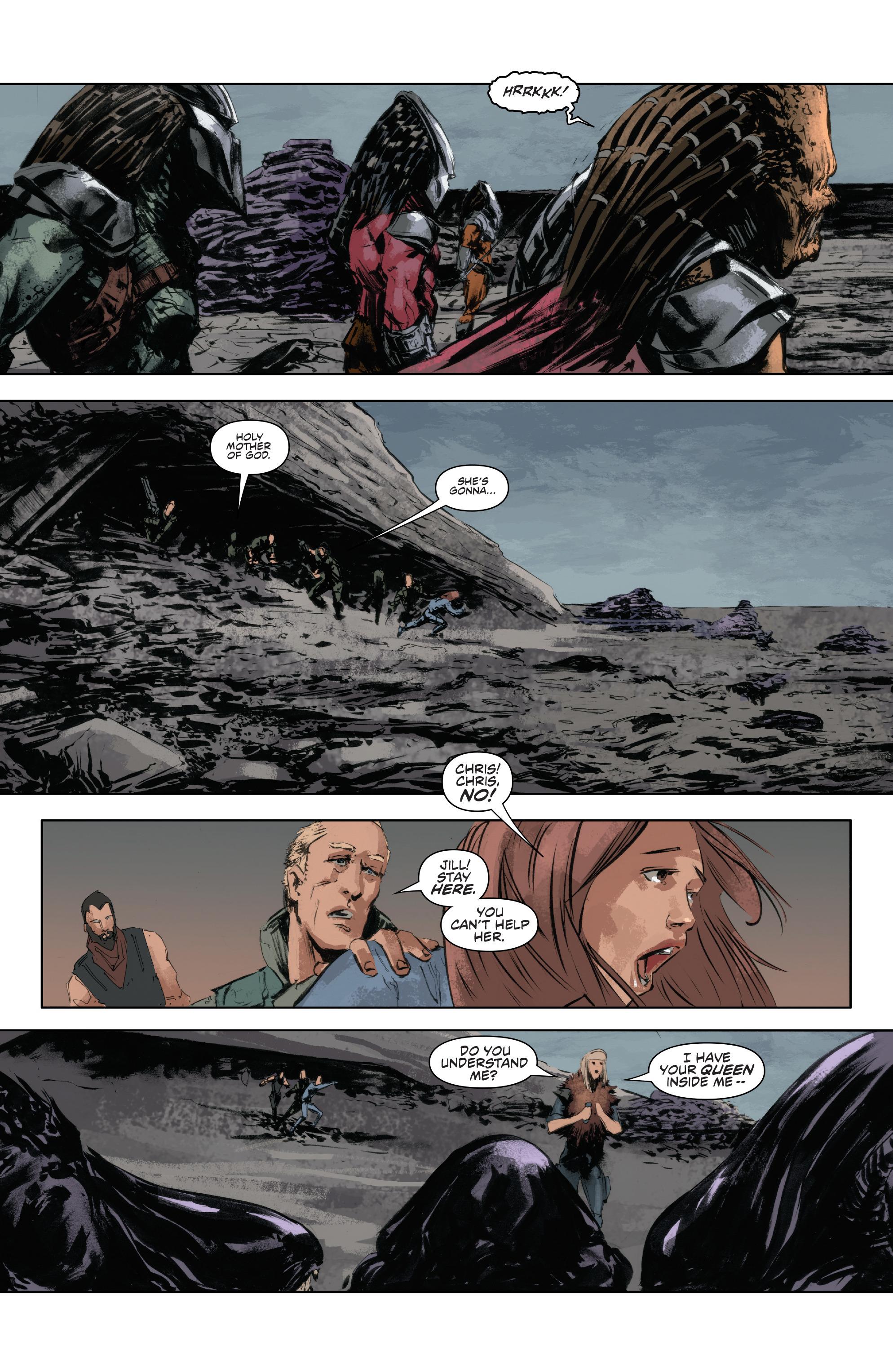Read online Alien Vs. Predator: Life and Death comic -  Issue #4 - 5