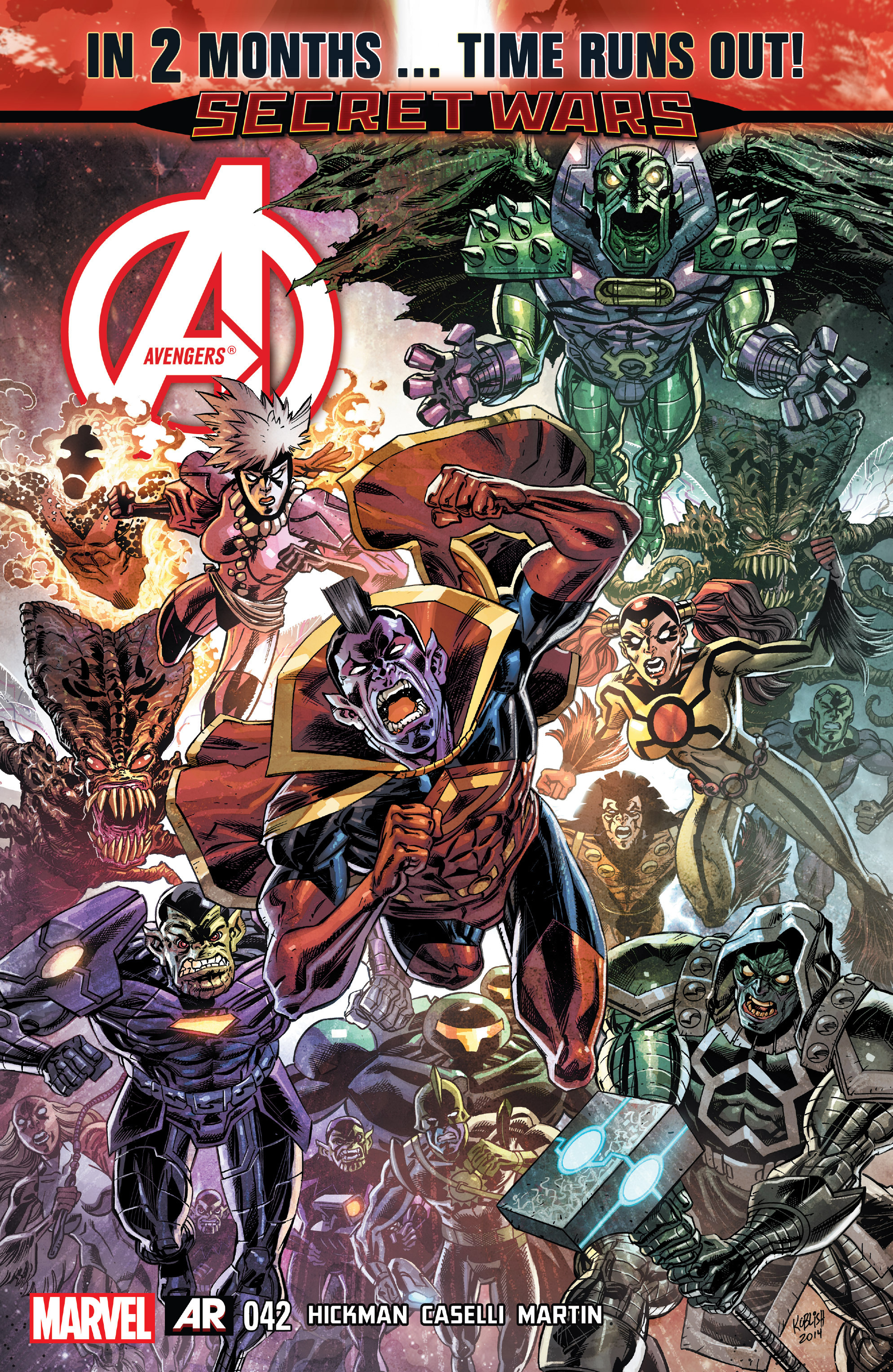 Read online Avengers (2013) comic -  Issue #42 - 1