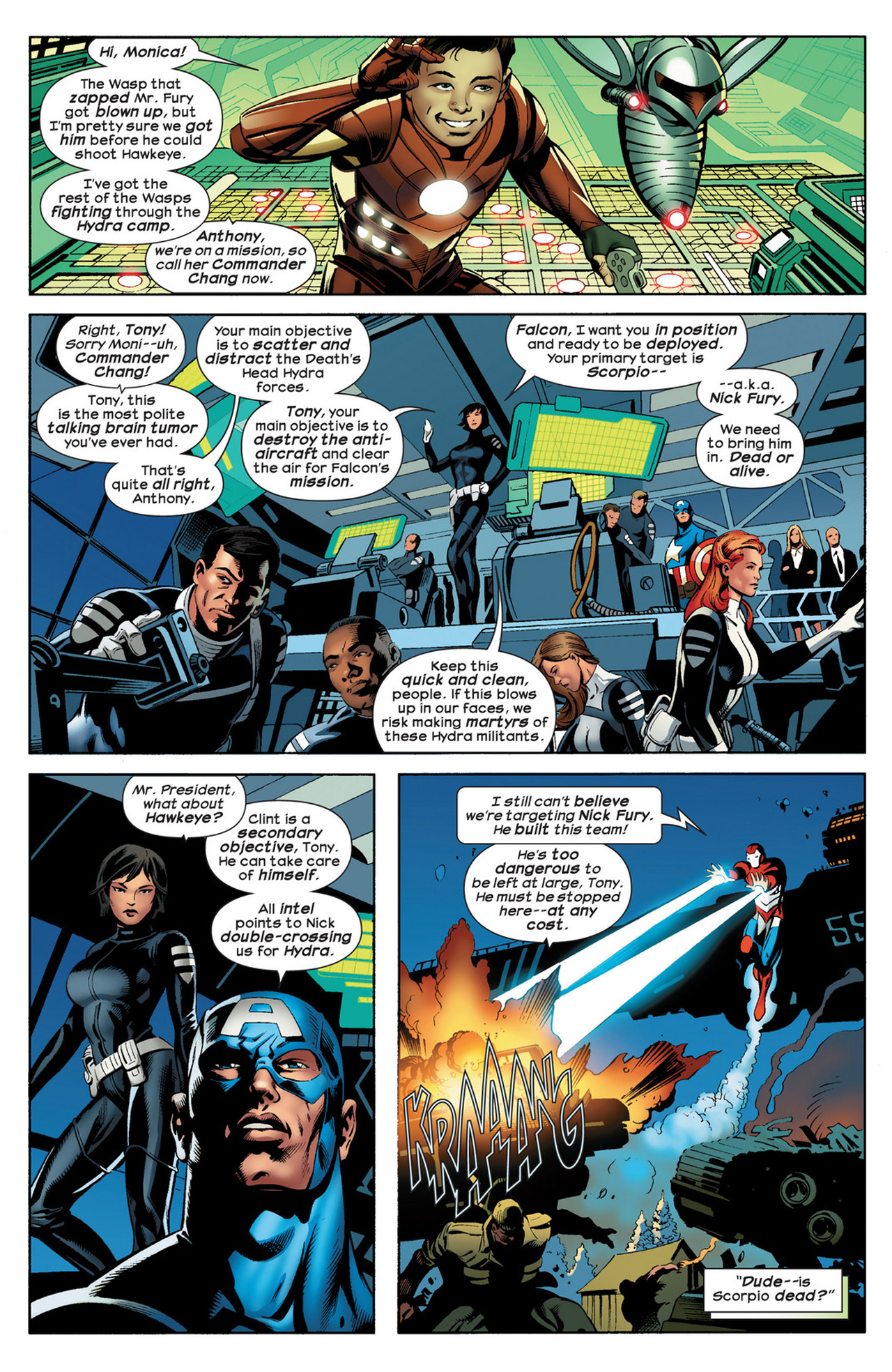 Read online Ultimate Comics Ultimates comic -  Issue #21 - 6