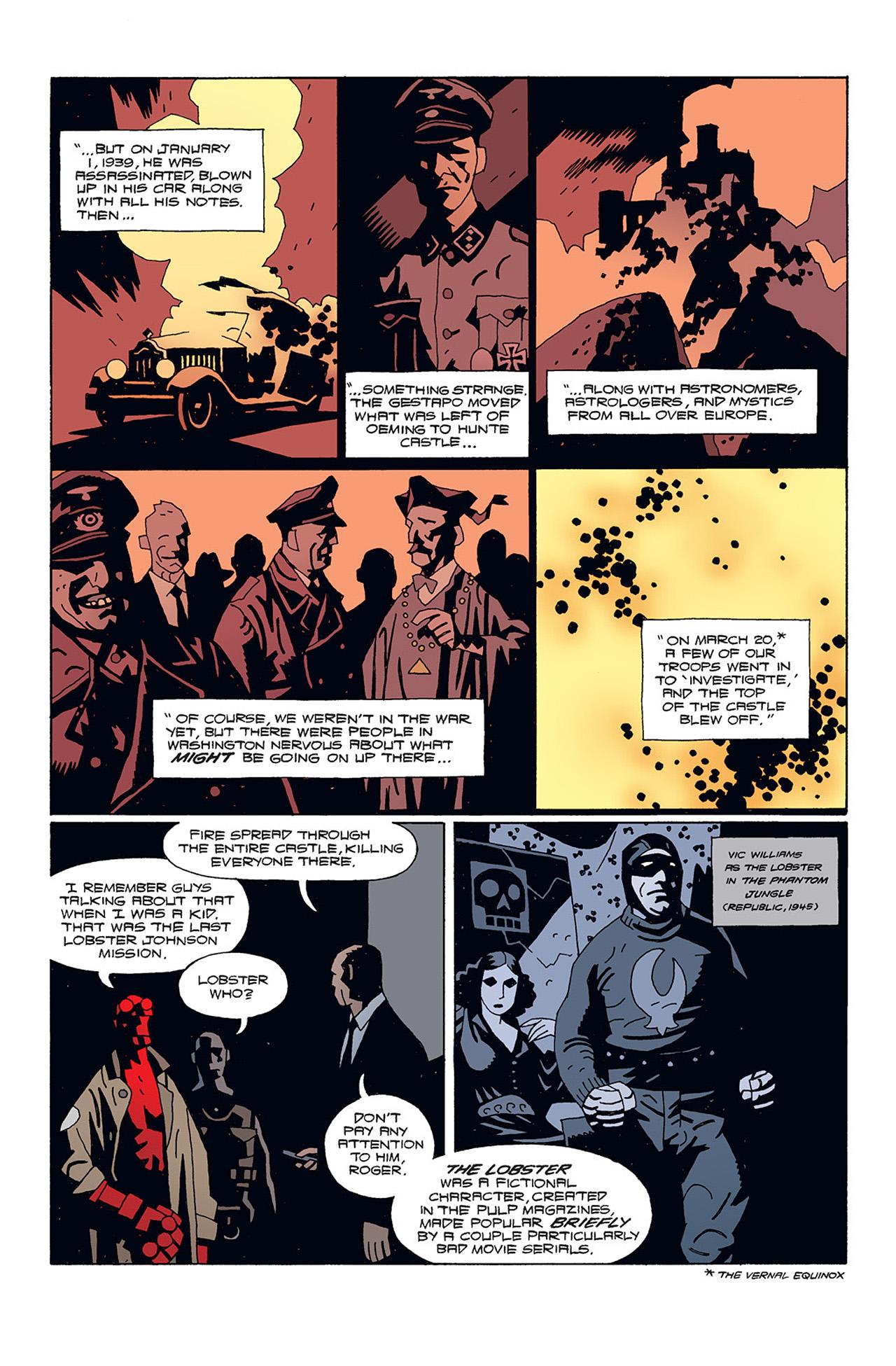 Read online Hellboy: Conqueror Worm comic -  Issue #1 - 10