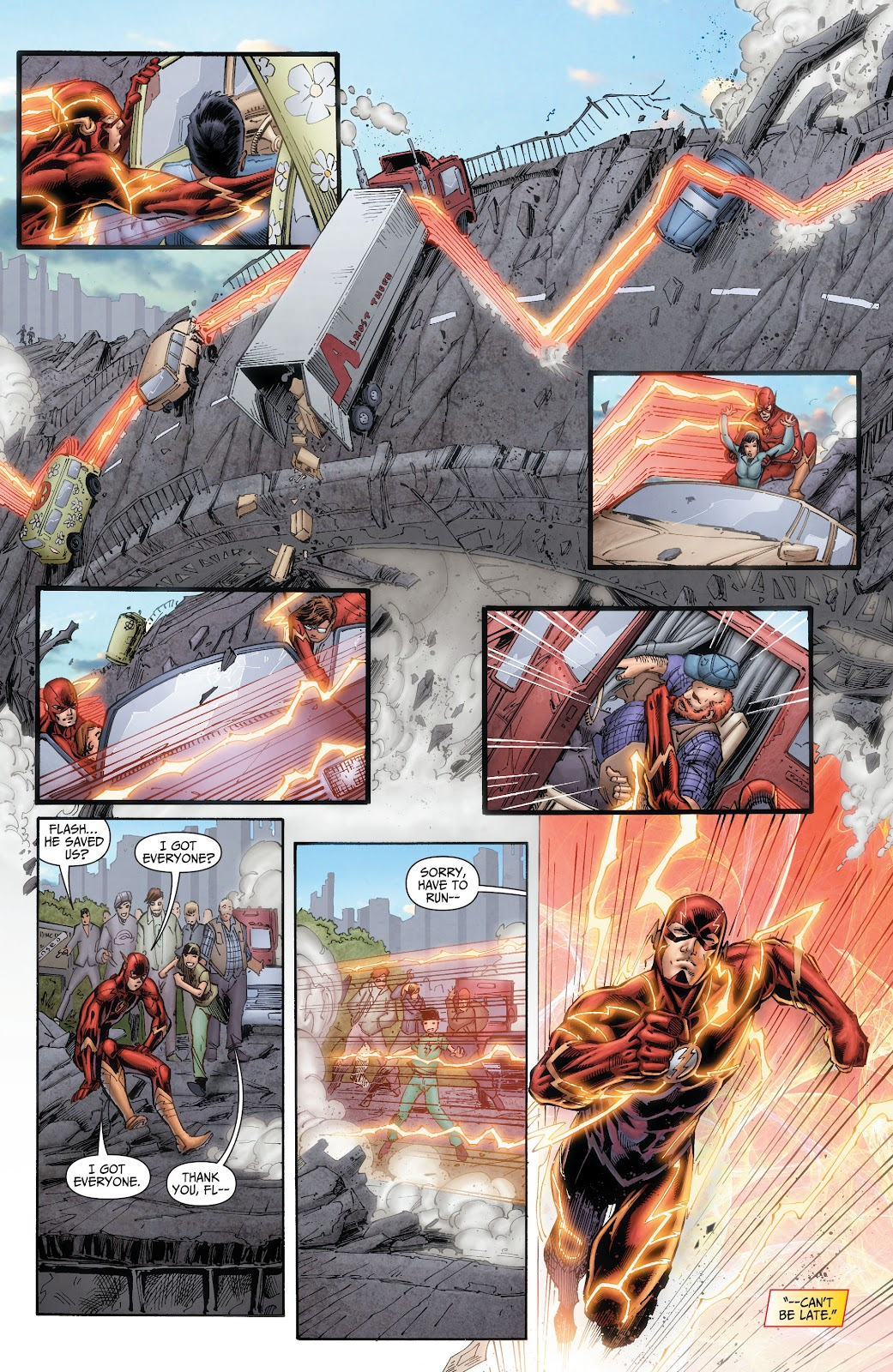 Read online The Flash (2011) comic -  Issue # _TPB 6 (Part 1) - 17
