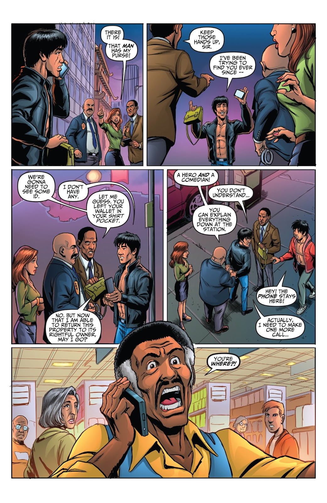Bruce Lee: Walk of the Dragon issue Full - Page 19