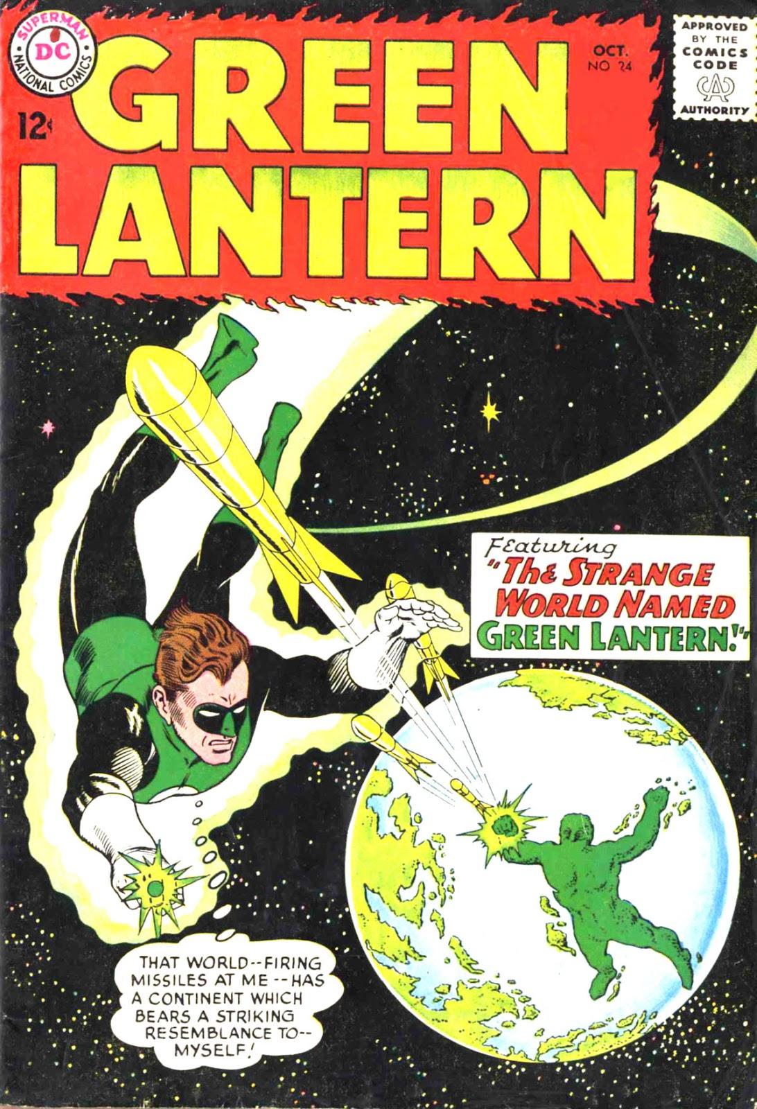 Green Lantern (1960) Issue #24 #27 - English 1