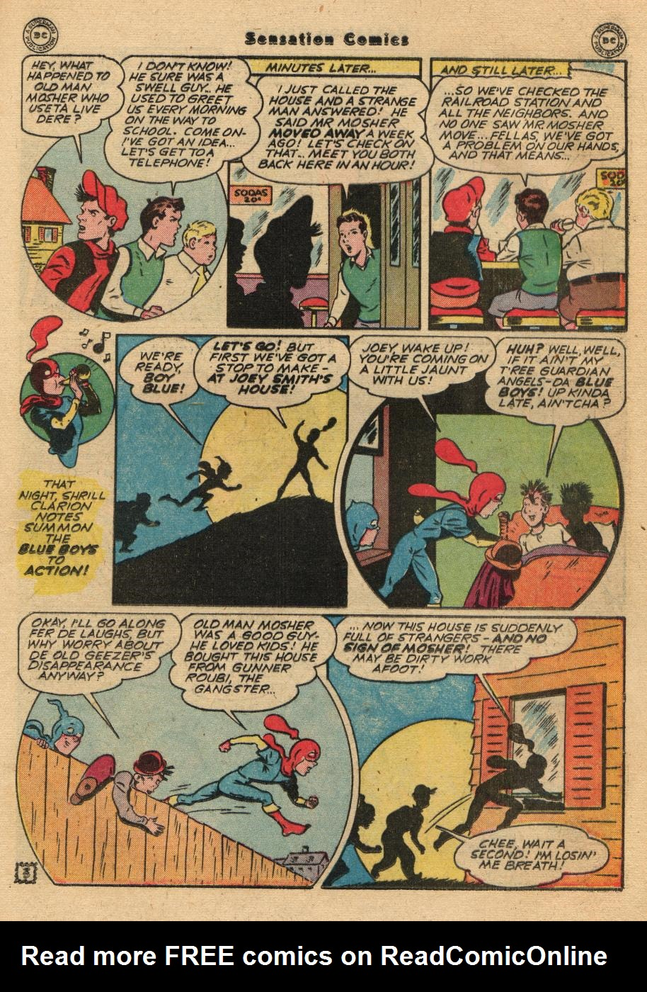 Read online Sensation (Mystery) Comics comic -  Issue #61 - 19