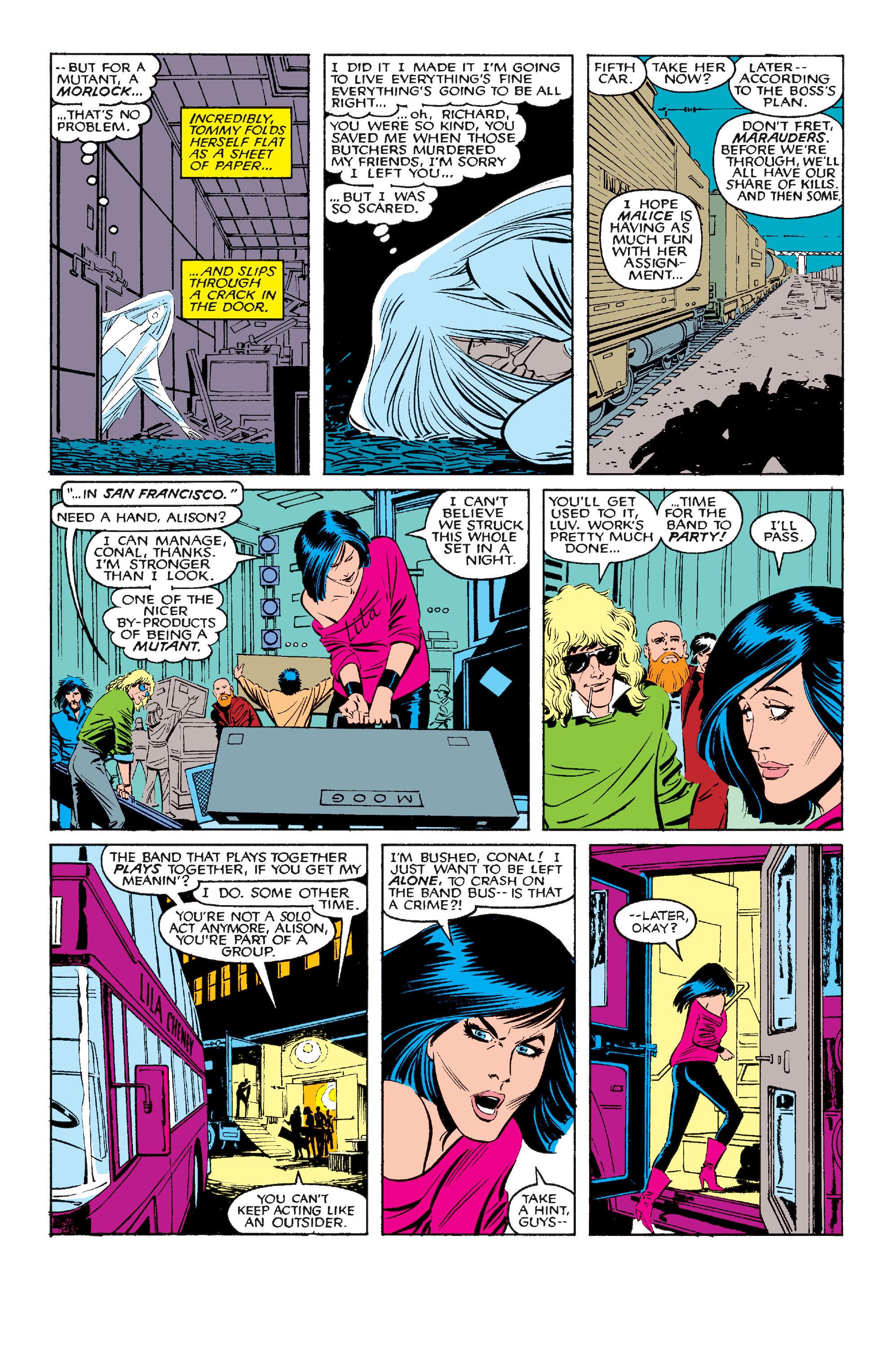 Read online Uncanny X-Men (1963) comic -  Issue #210 - 5