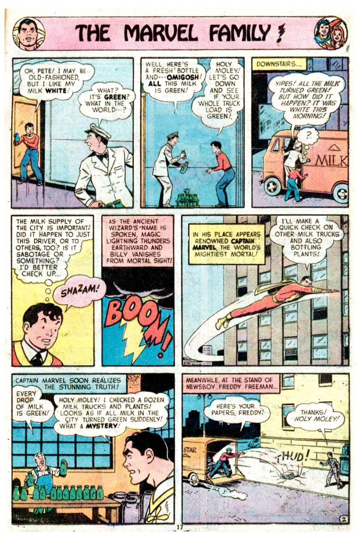 Read online Shazam! (1973) comic -  Issue #16 - 17