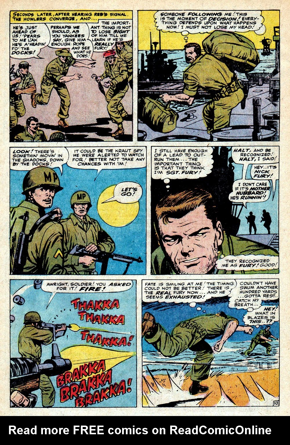 Read online Sgt. Fury comic -  Issue #85 - 16