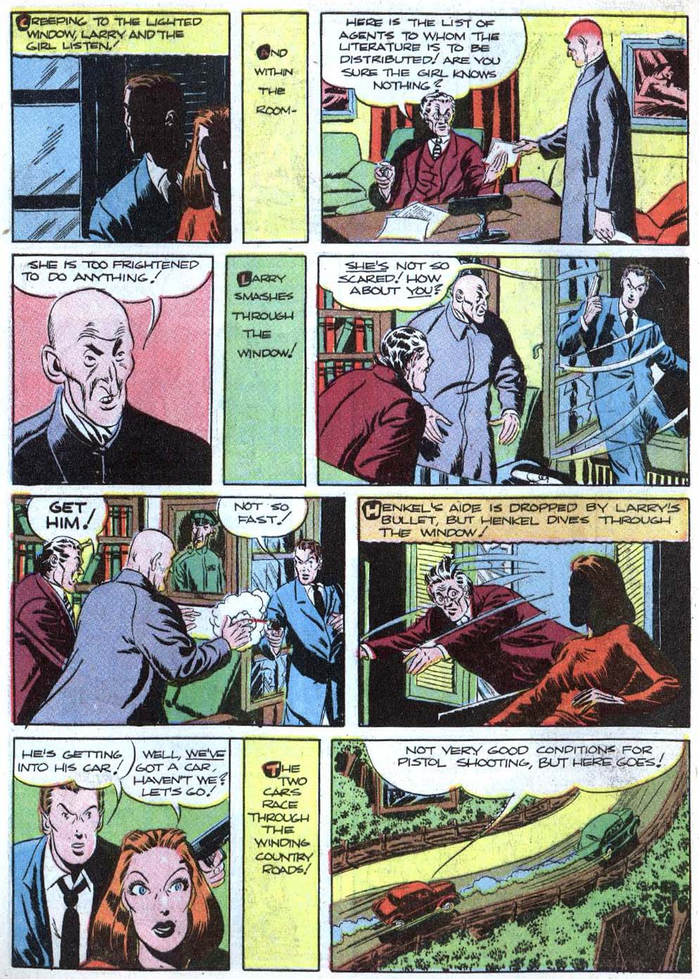 Read online Detective Comics (1937) comic -  Issue #43 - 48
