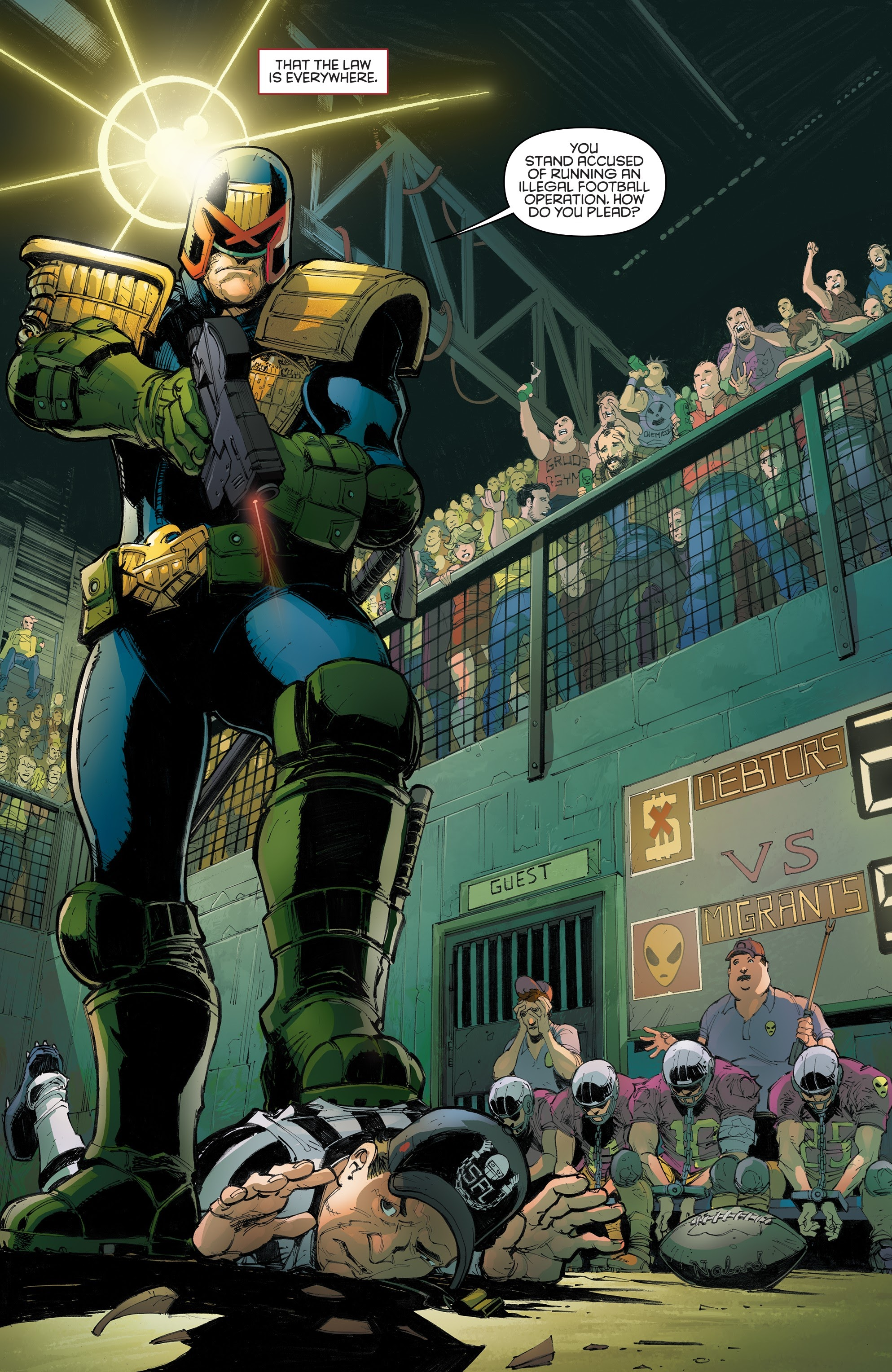 Judge Dredd: Toxic #4 #4 - English 30