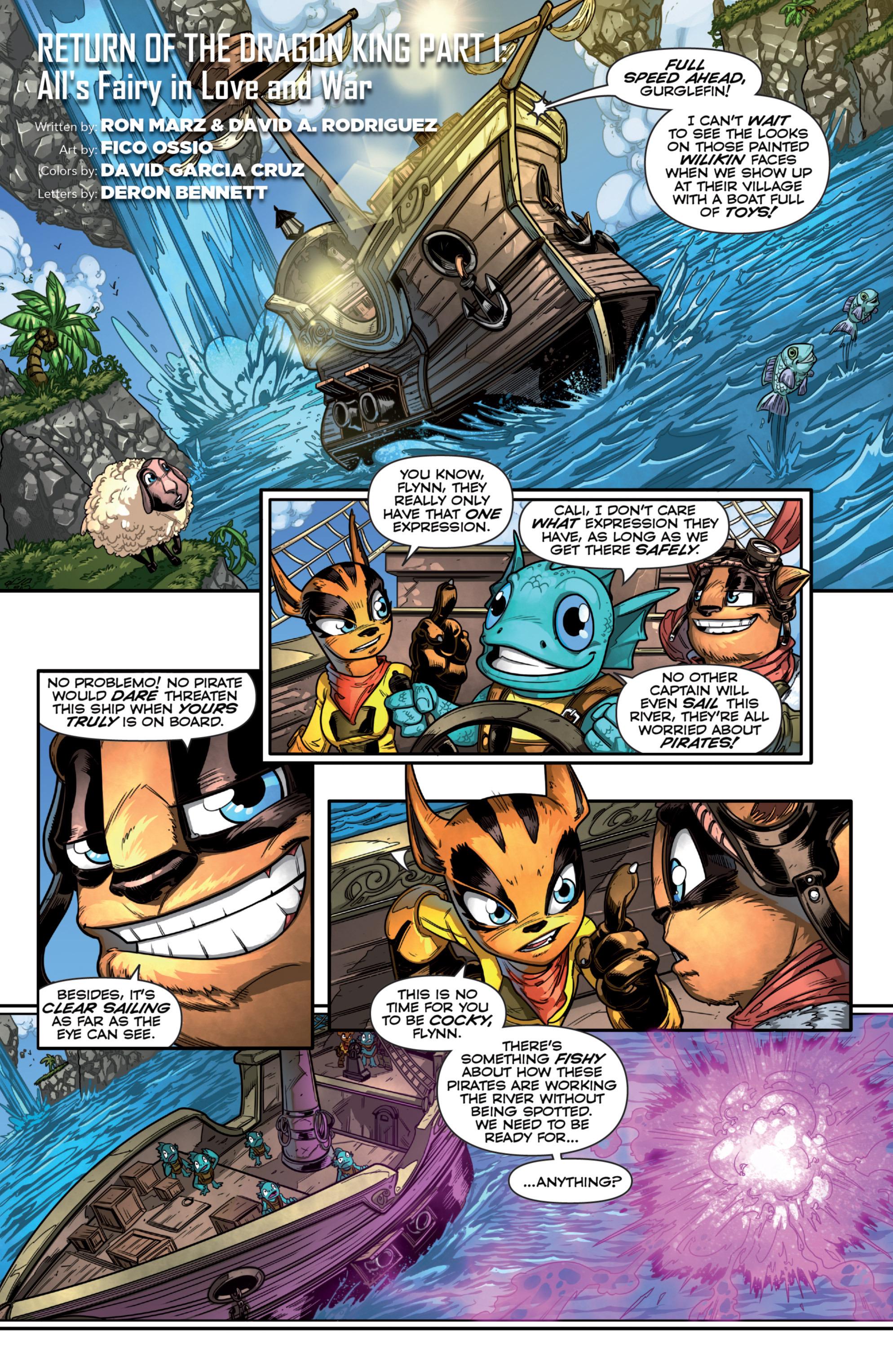 Read online Skylanders comic -  Issue #7 - 3